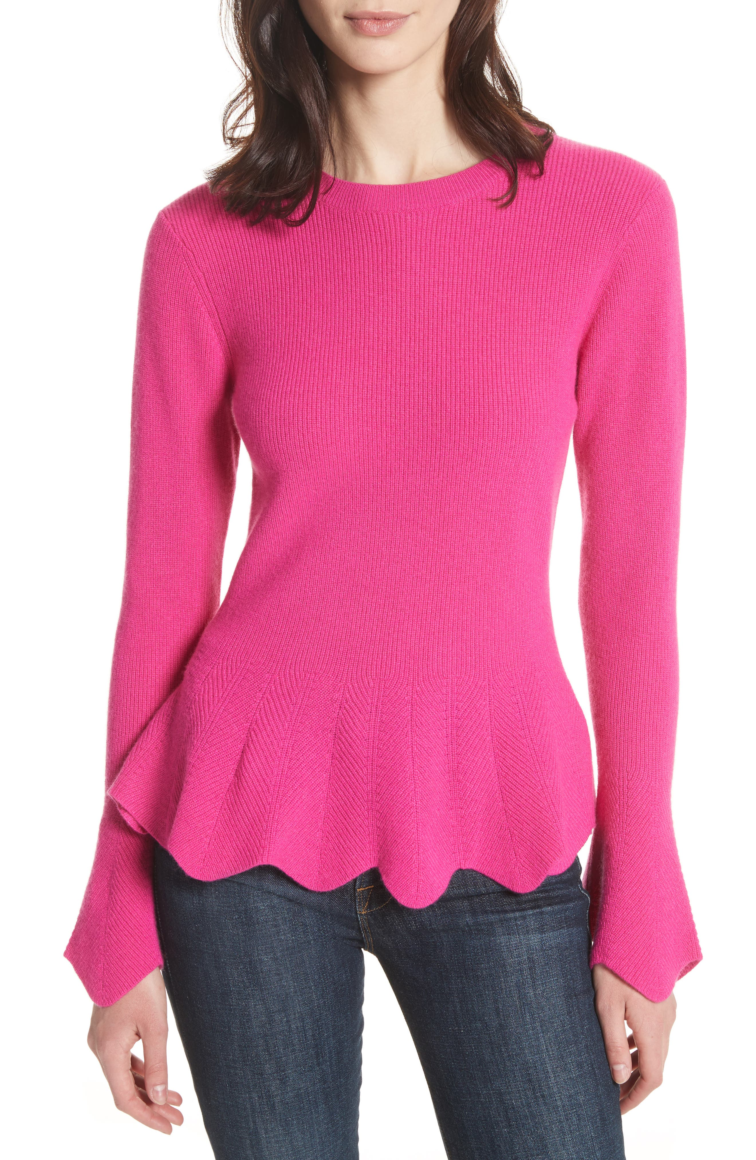 Ted Baker London Peplum Sweater