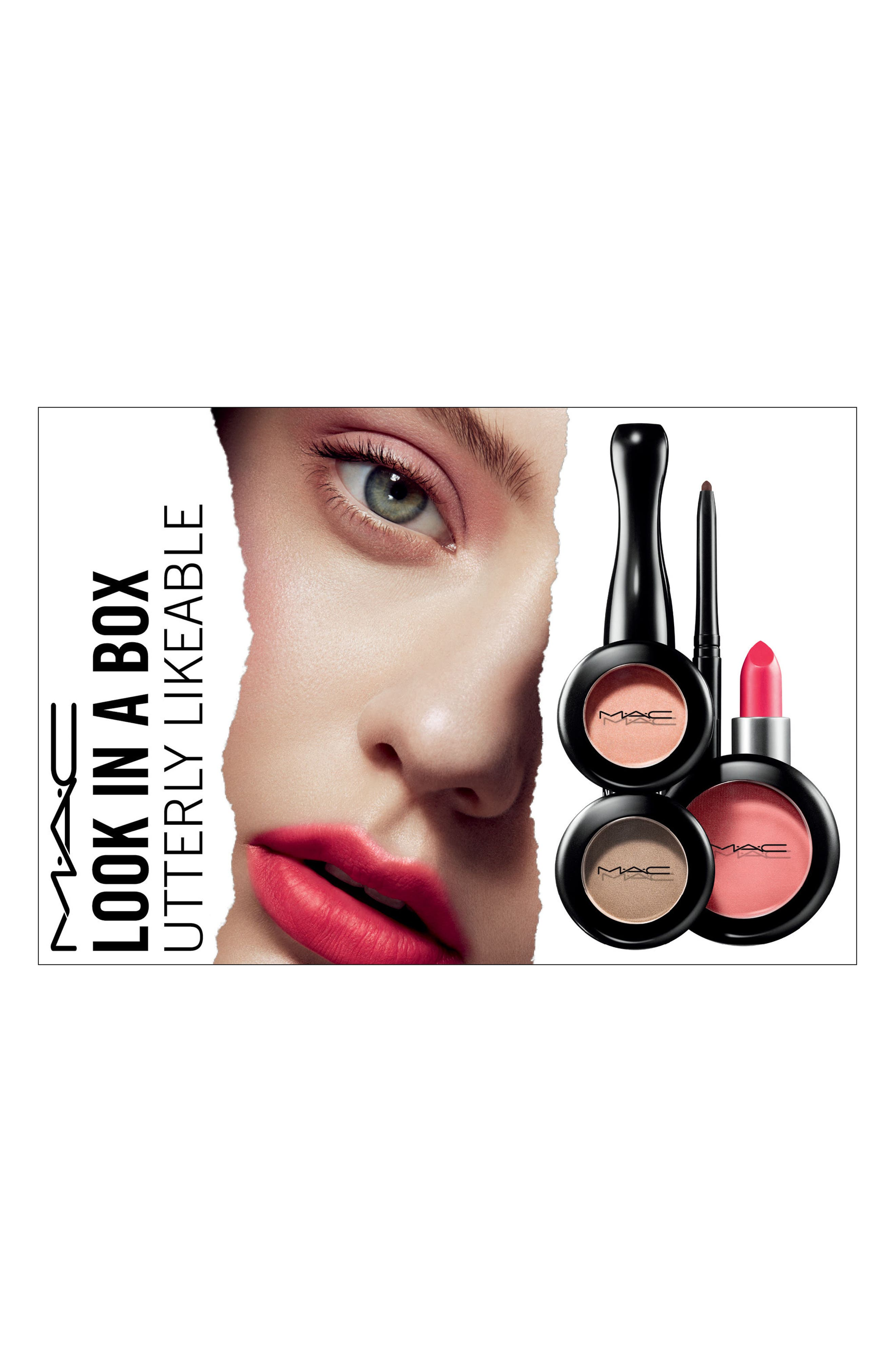 MAC Look in a Box Utterly Likeable Set,                             Main thumbnail 1, color,                             No Color