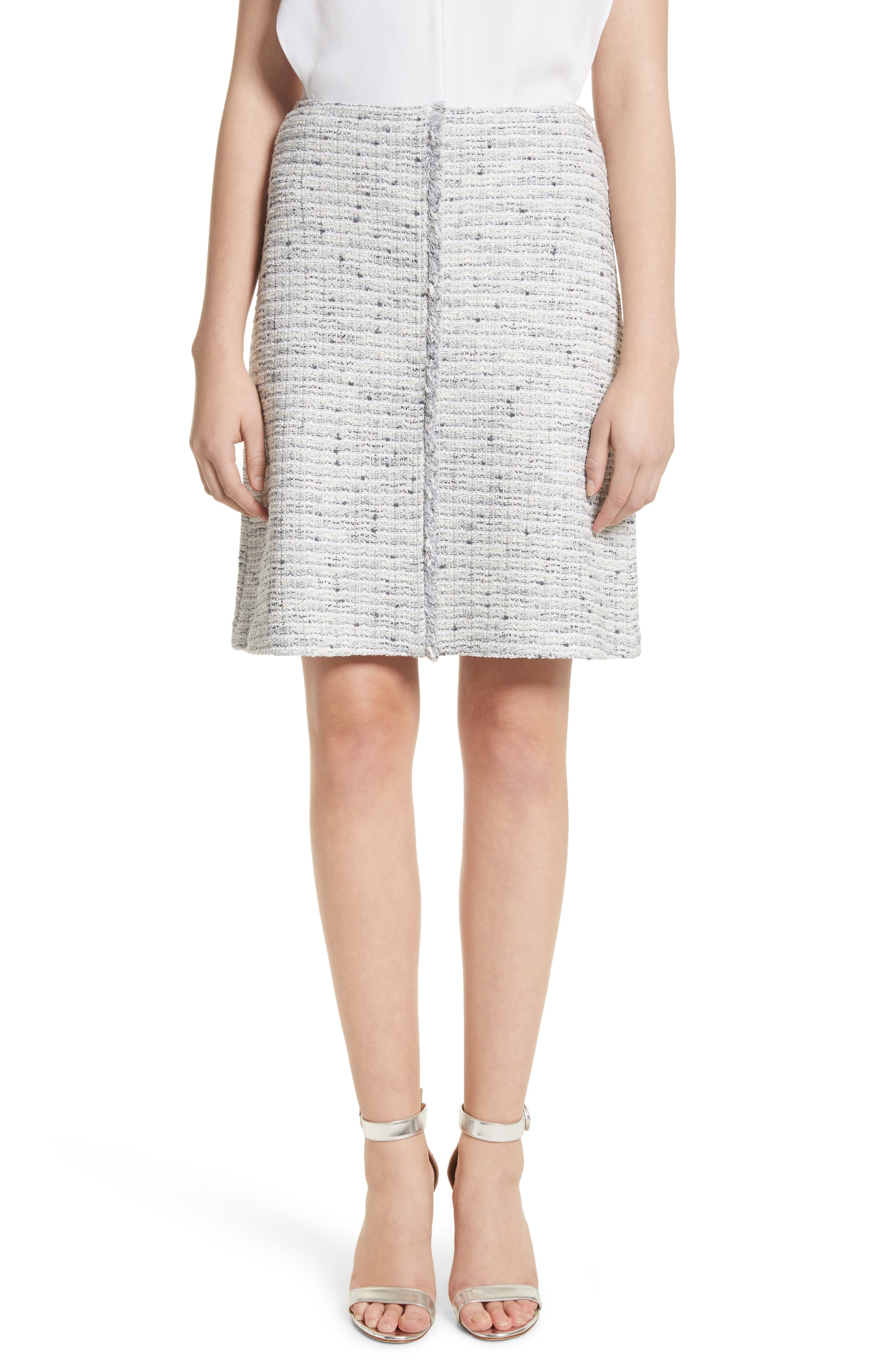 St. John Collection Tweed Skirt