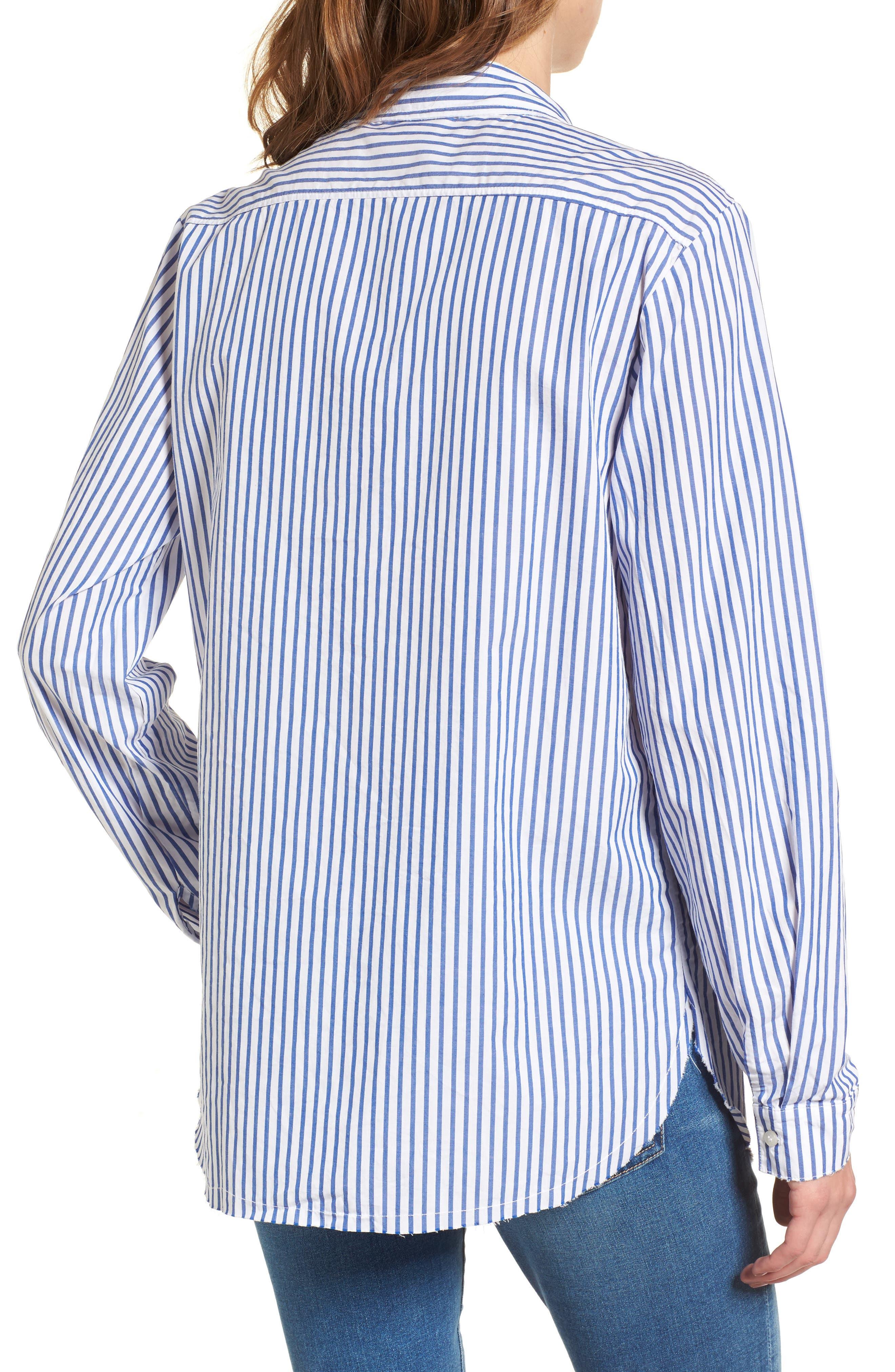 Alternate Image 2  - Stateside Stripe Oxford Shirt