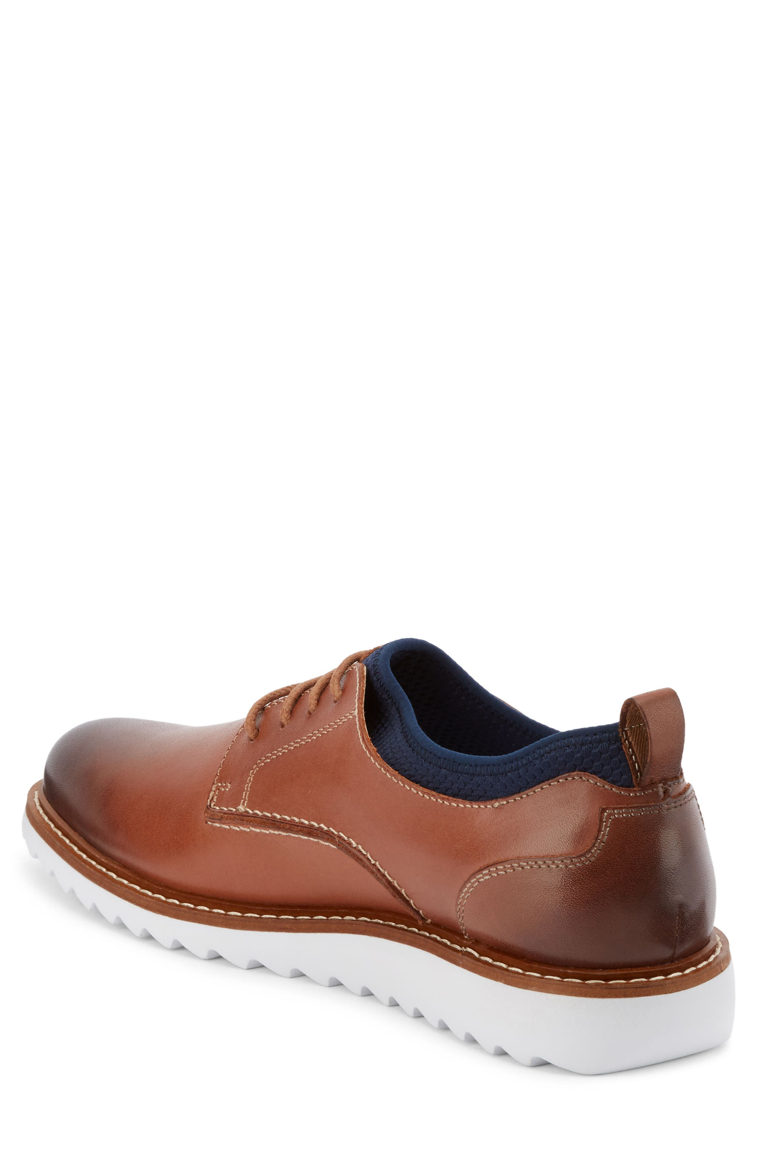 Buck 2.0 Plain Toe Derby,                             Alternate thumbnail 2, color,                             Tan Burnished Leather