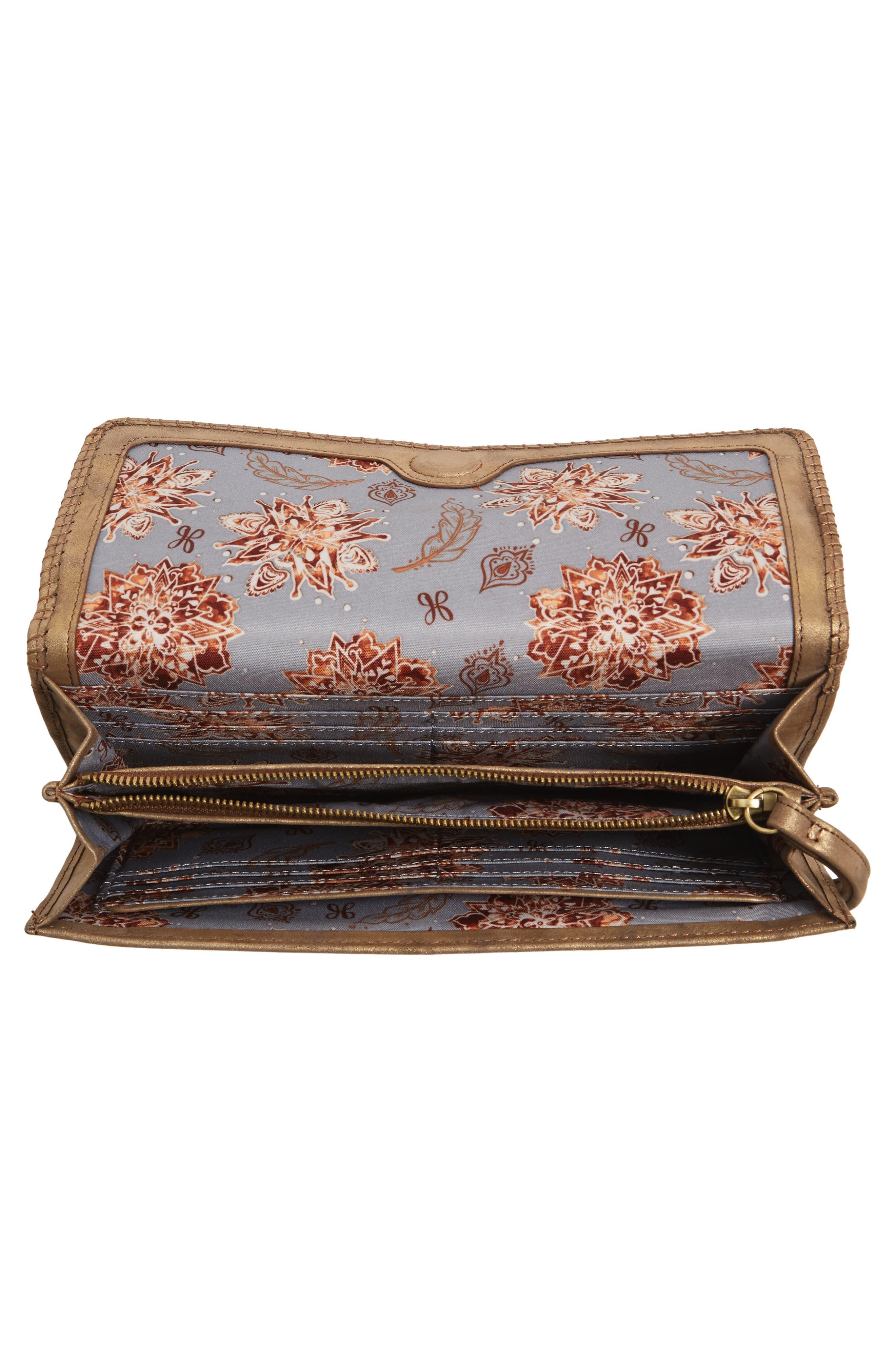 Alternate Image 2  - Hobo Era Wristie Leather Wallet
