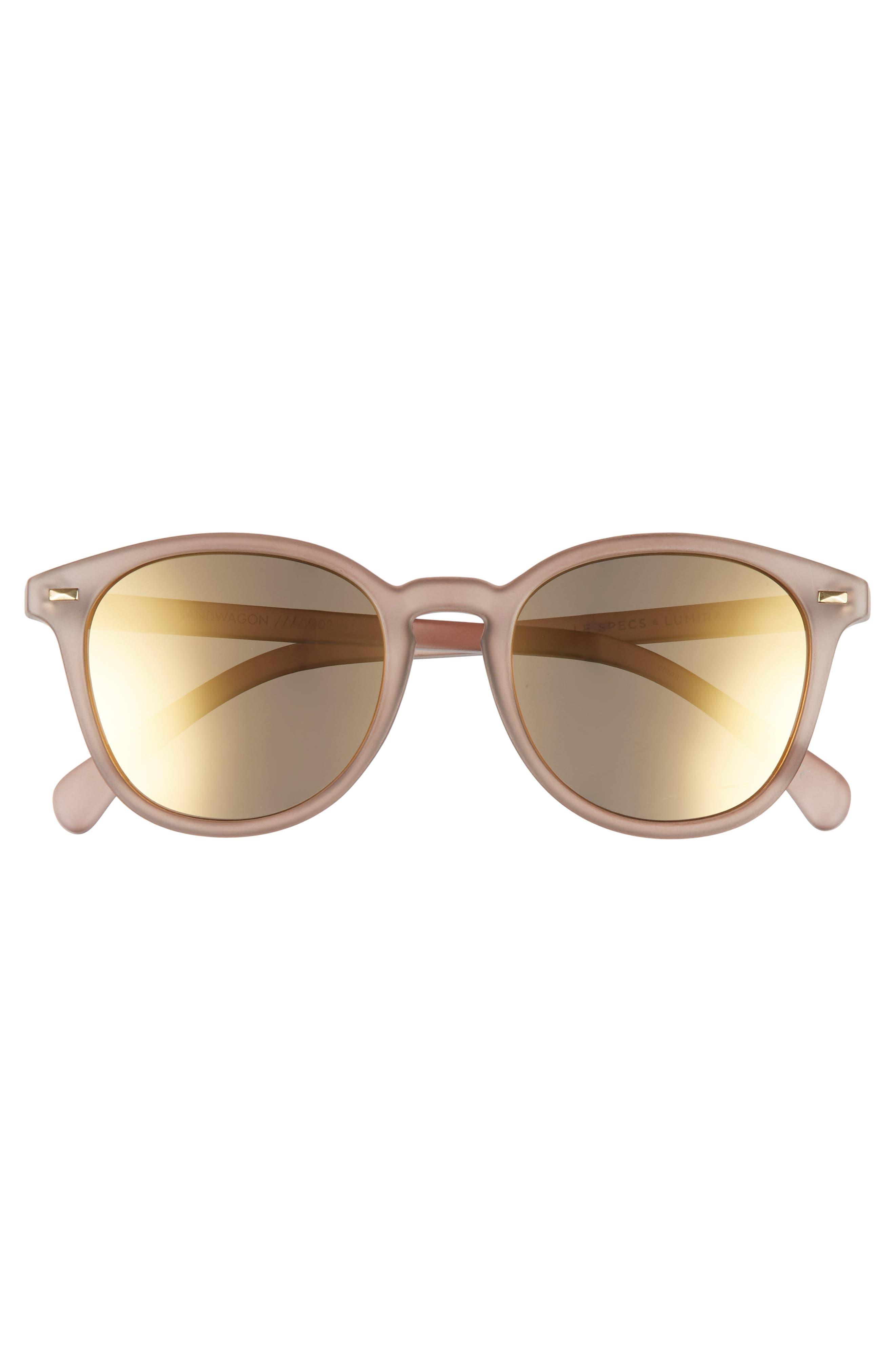 Alternate Image 4  - Le Specs x Lumira Bandwagon 51mm Sunglasses & Candle Gift Set