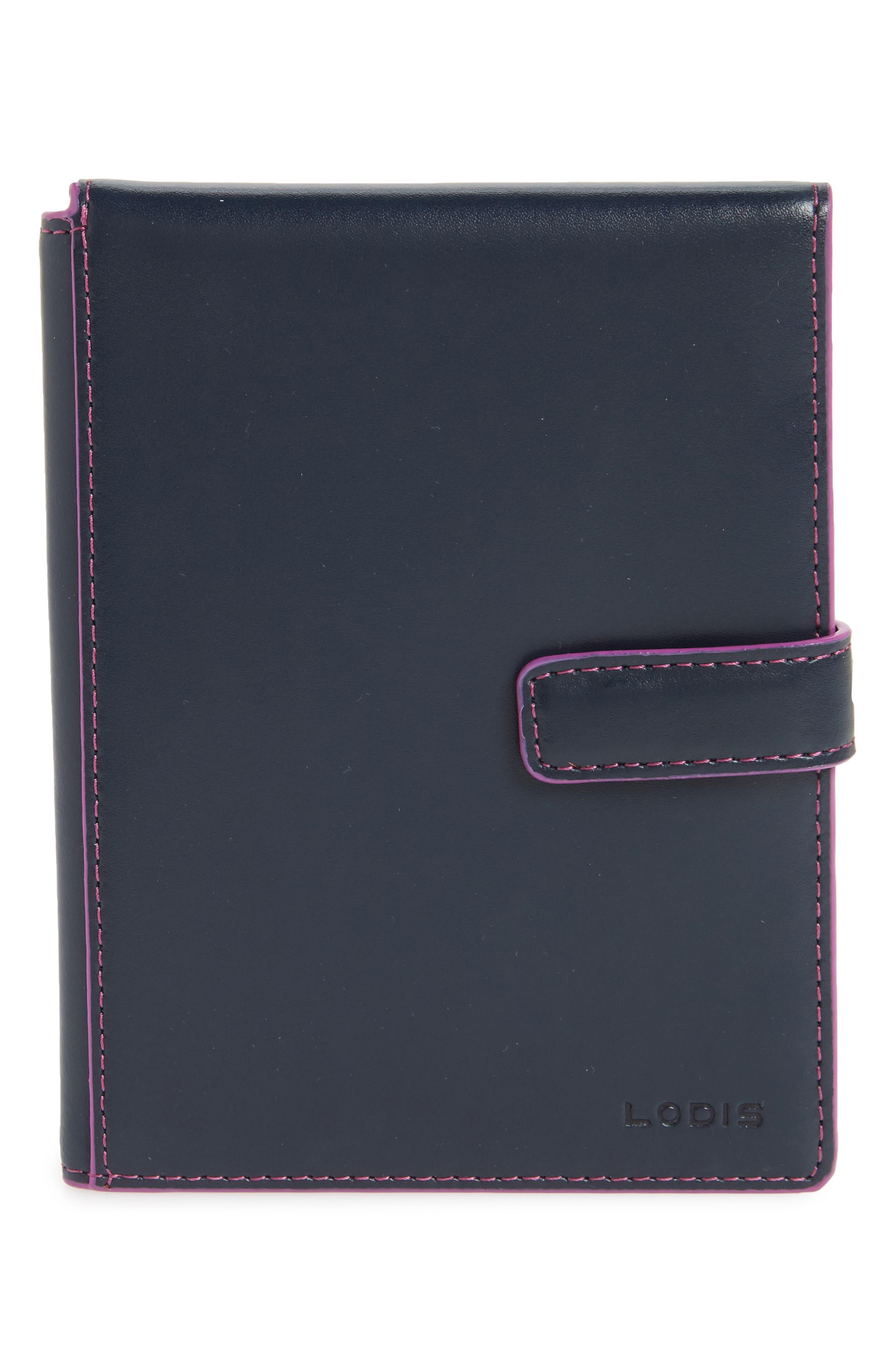 LODIS Audrey RFID Leather Passport Wallet (Nordstrom Exclusive)