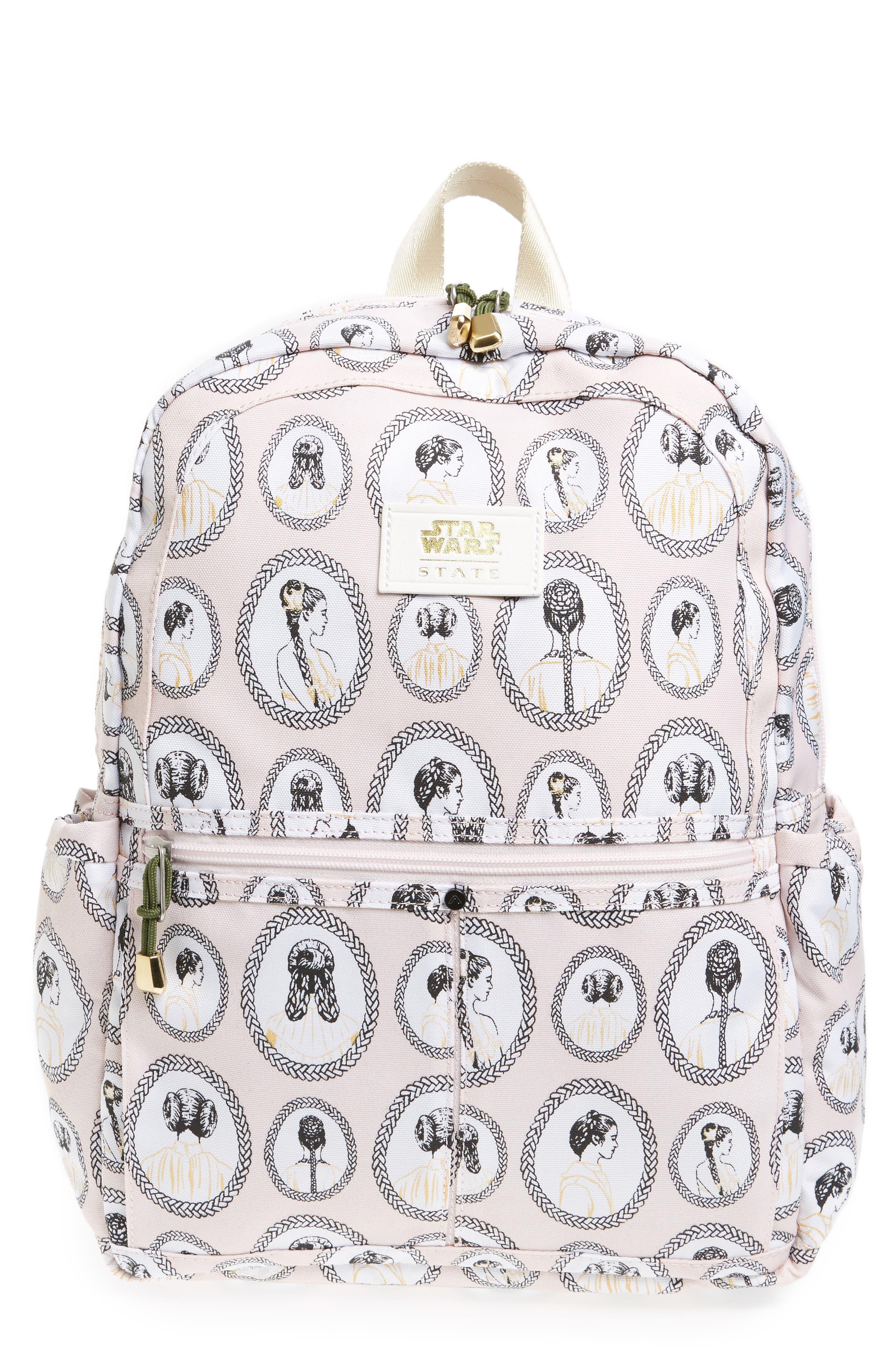Star Wars - Princess Leia Kane Backpack,                         Main,                         color, Pink Princess Leia