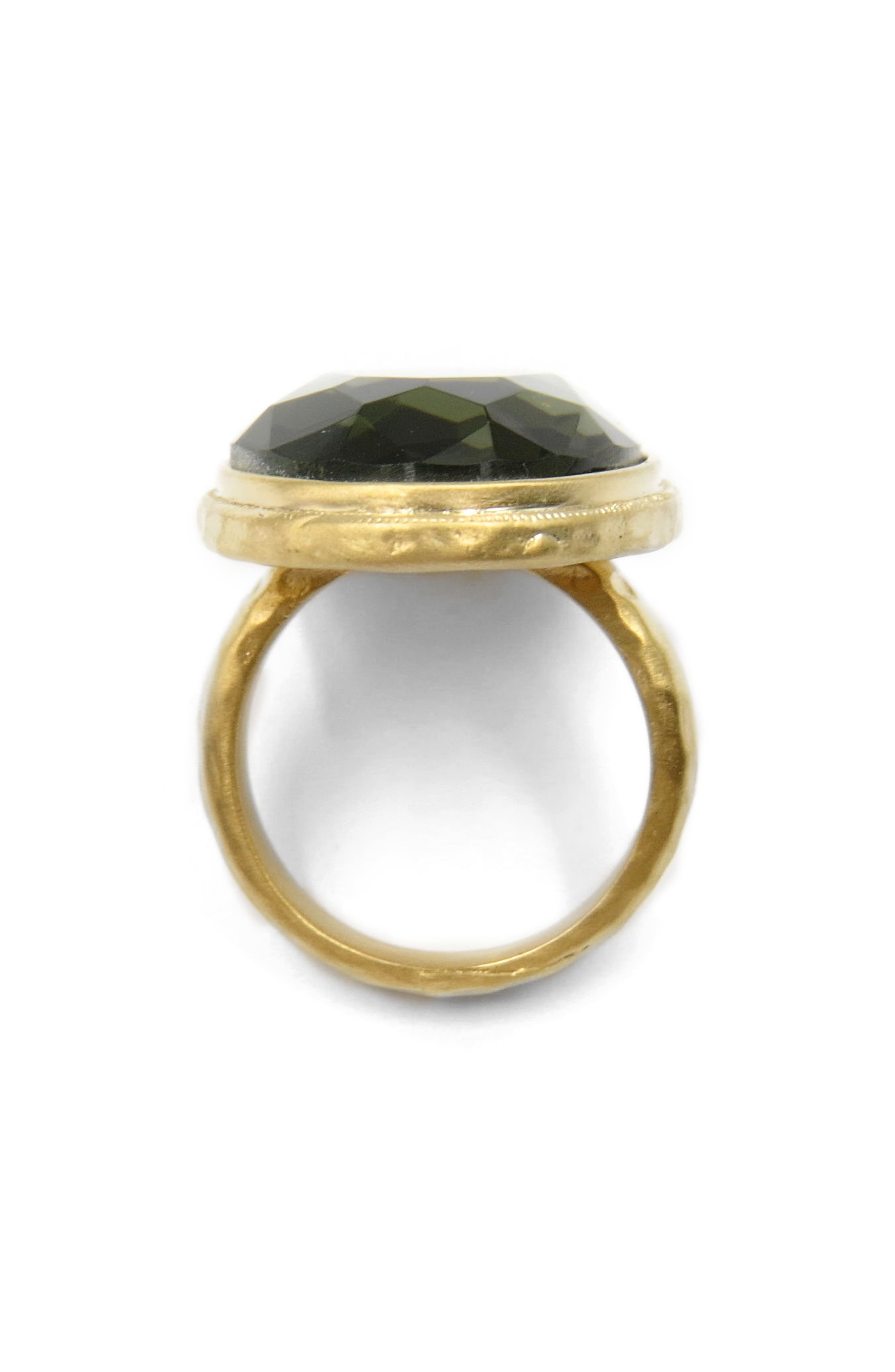 Cocktail Ring,                             Alternate thumbnail 2, color,                             Gold