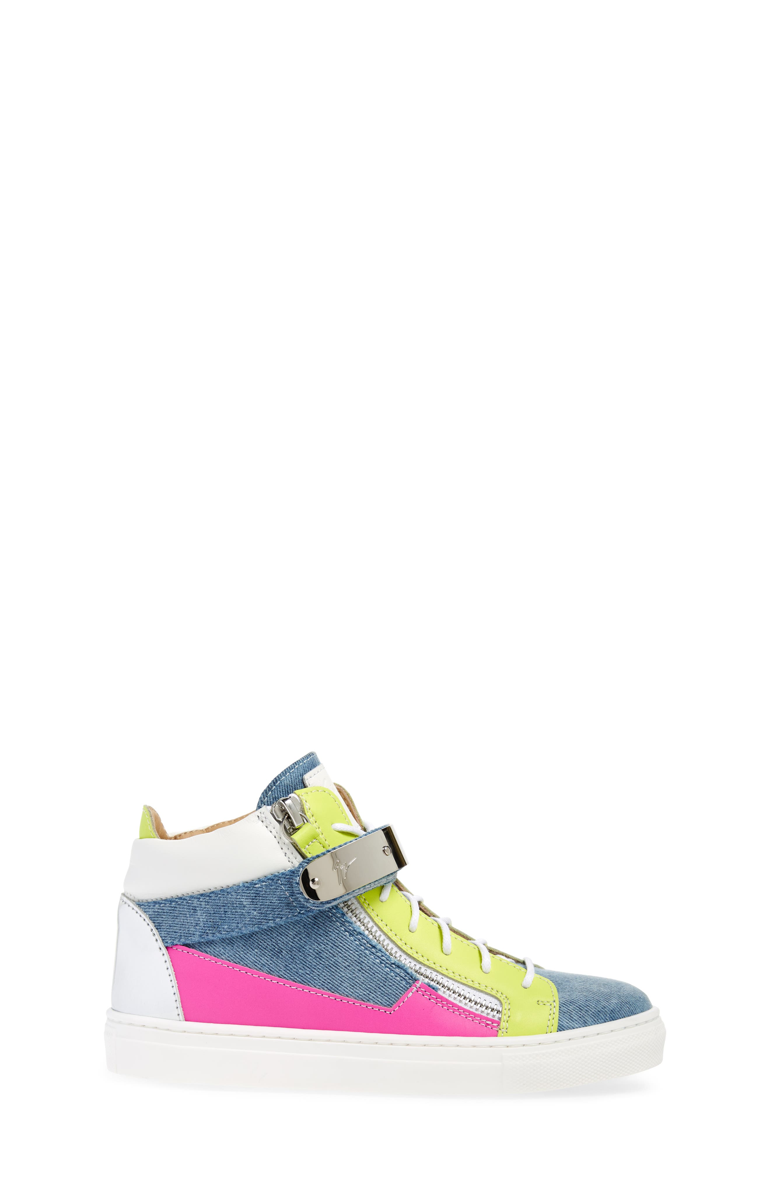 London High Top Sneaker,                             Alternate thumbnail 3, color,                             Multi
