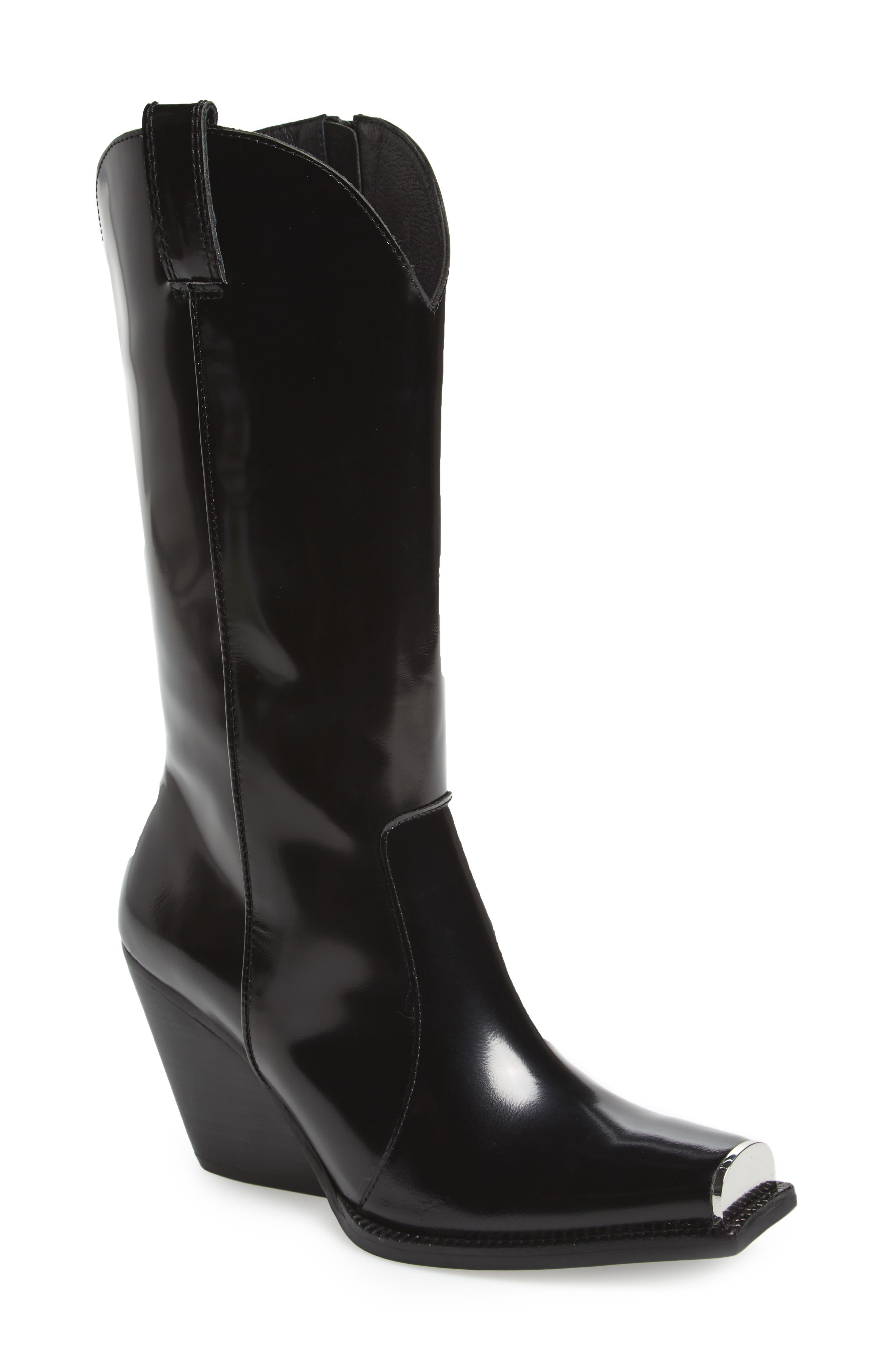 Jeffrey Campbell Overkill Western Boot (Women) (Narrow Calf)