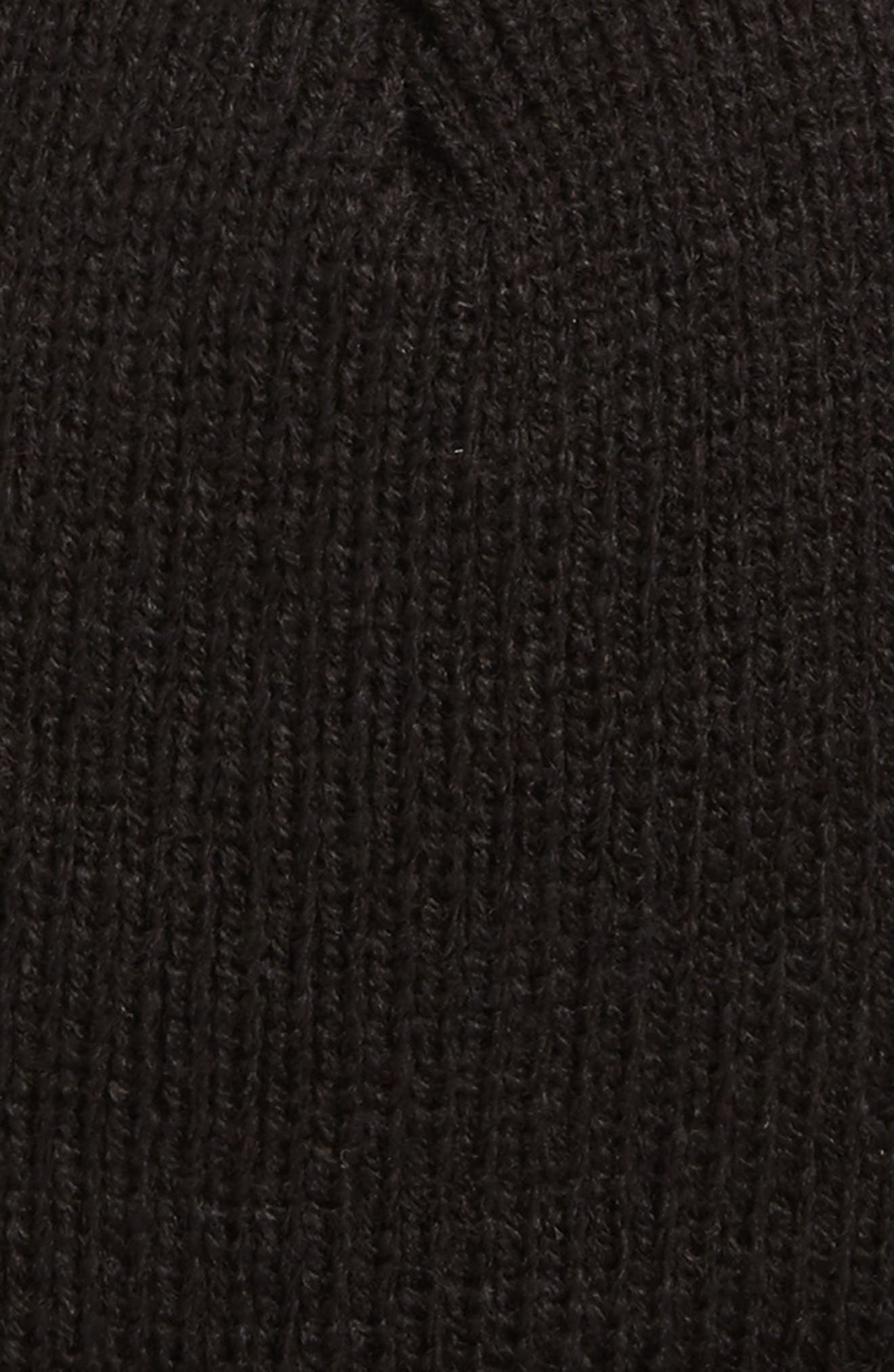 Beanie,                             Alternate thumbnail 2, color,                             Black