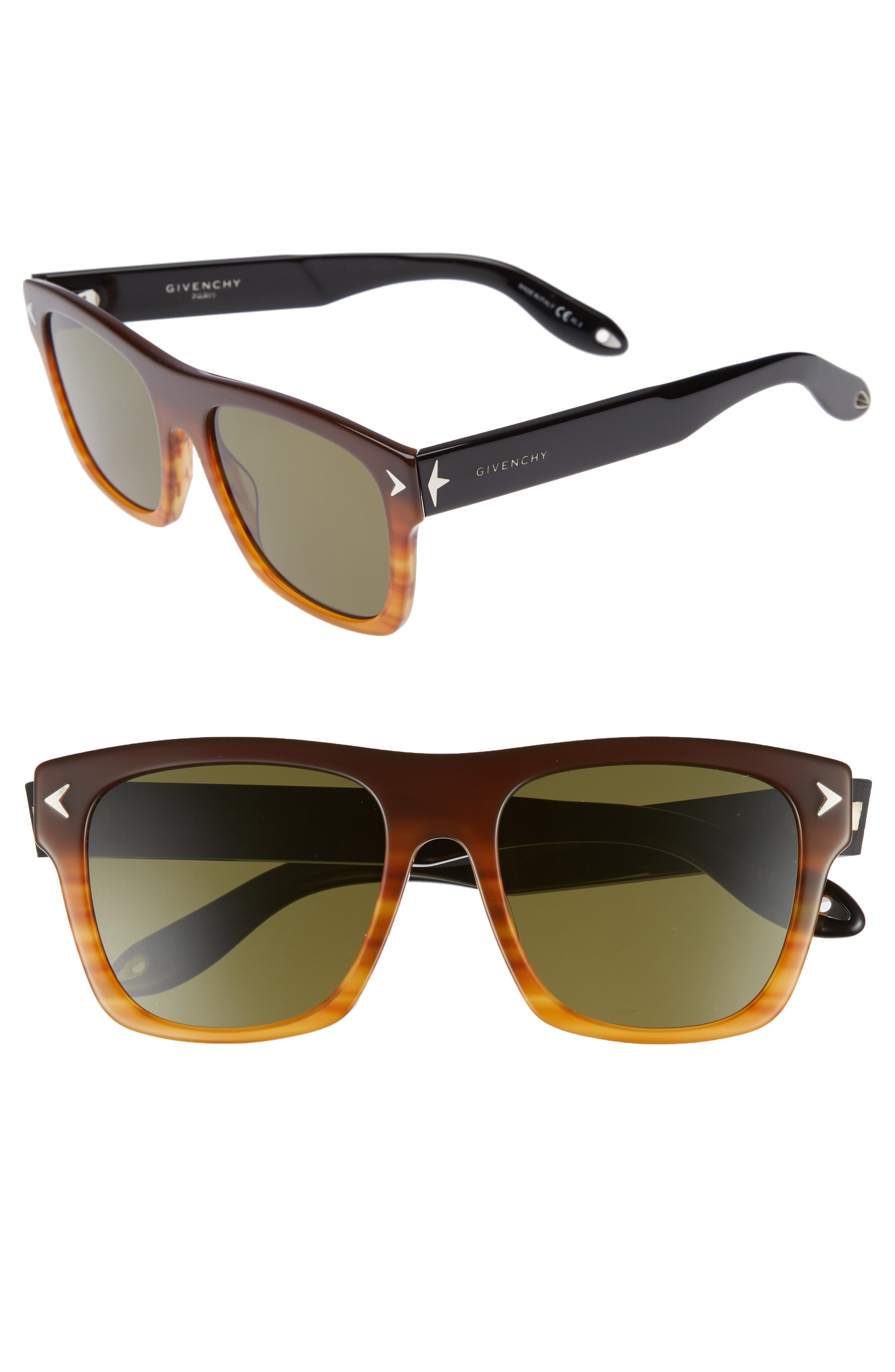 Main Image - Givenchy 55mm Square Sunglasses