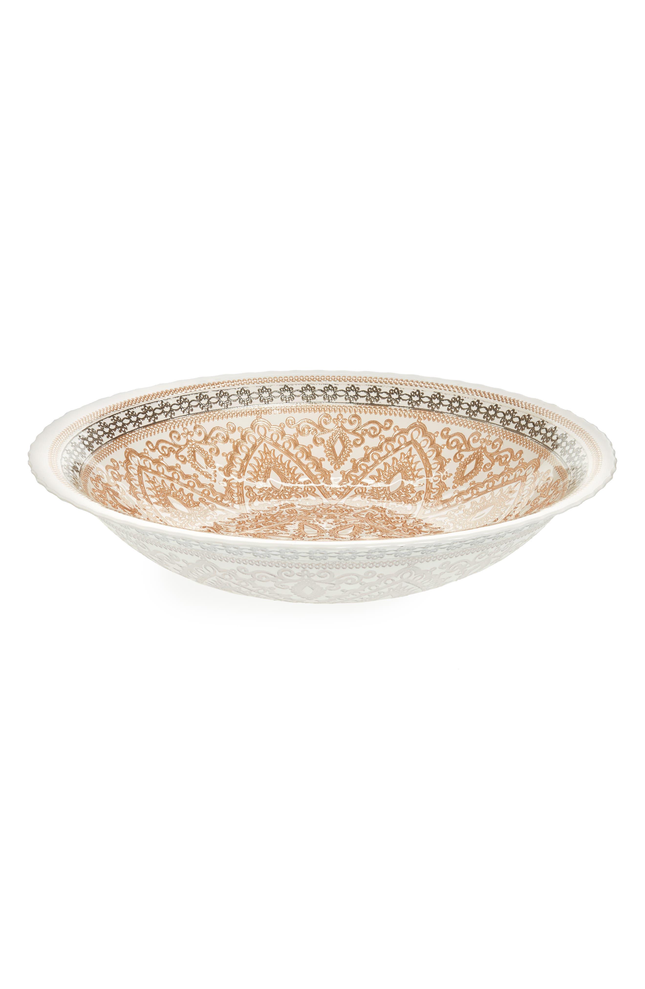 Cordoba Bowl,                             Main thumbnail 1, color,                             Gold