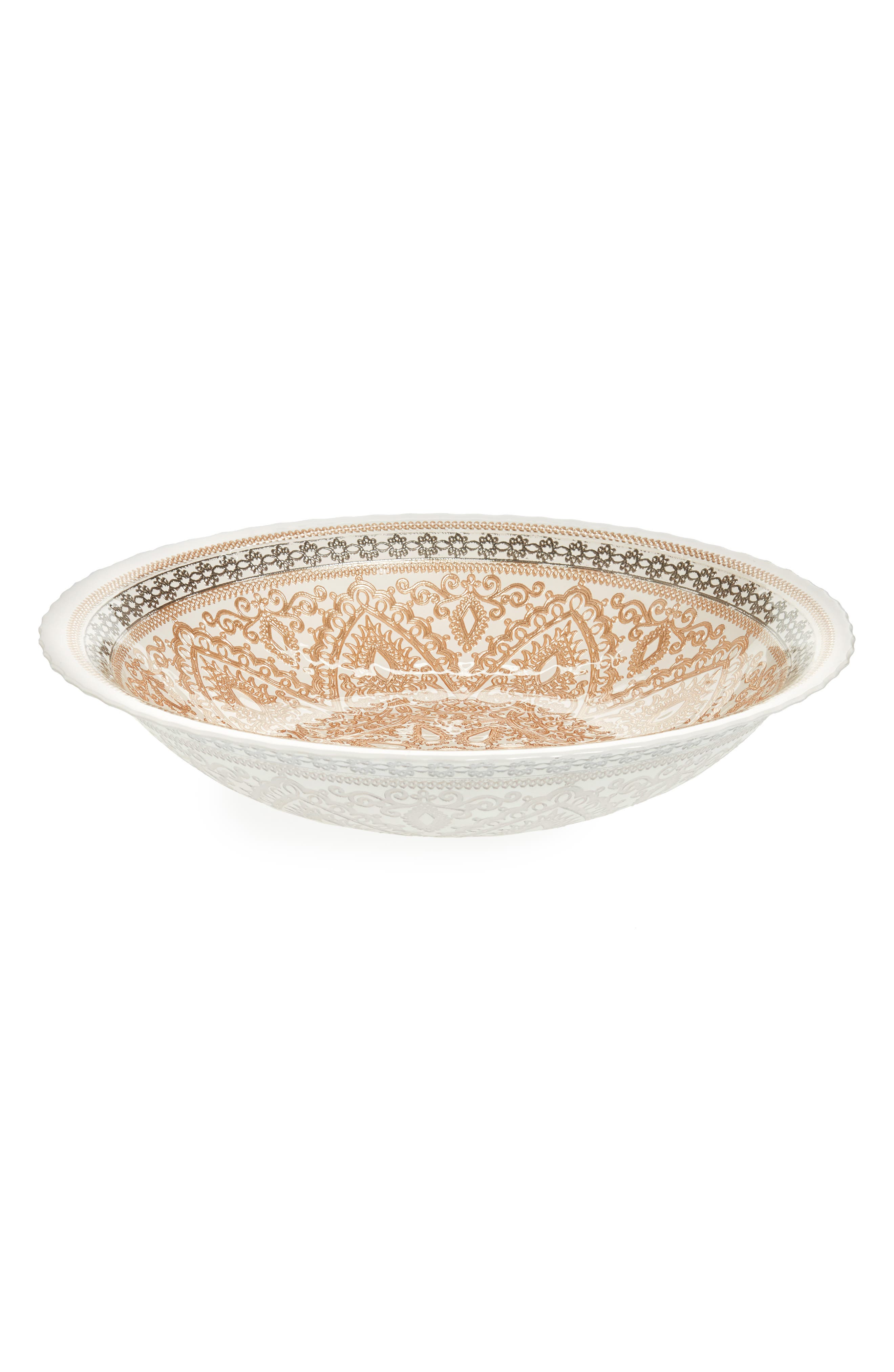 Cordoba Bowl,                         Main,                         color, Gold