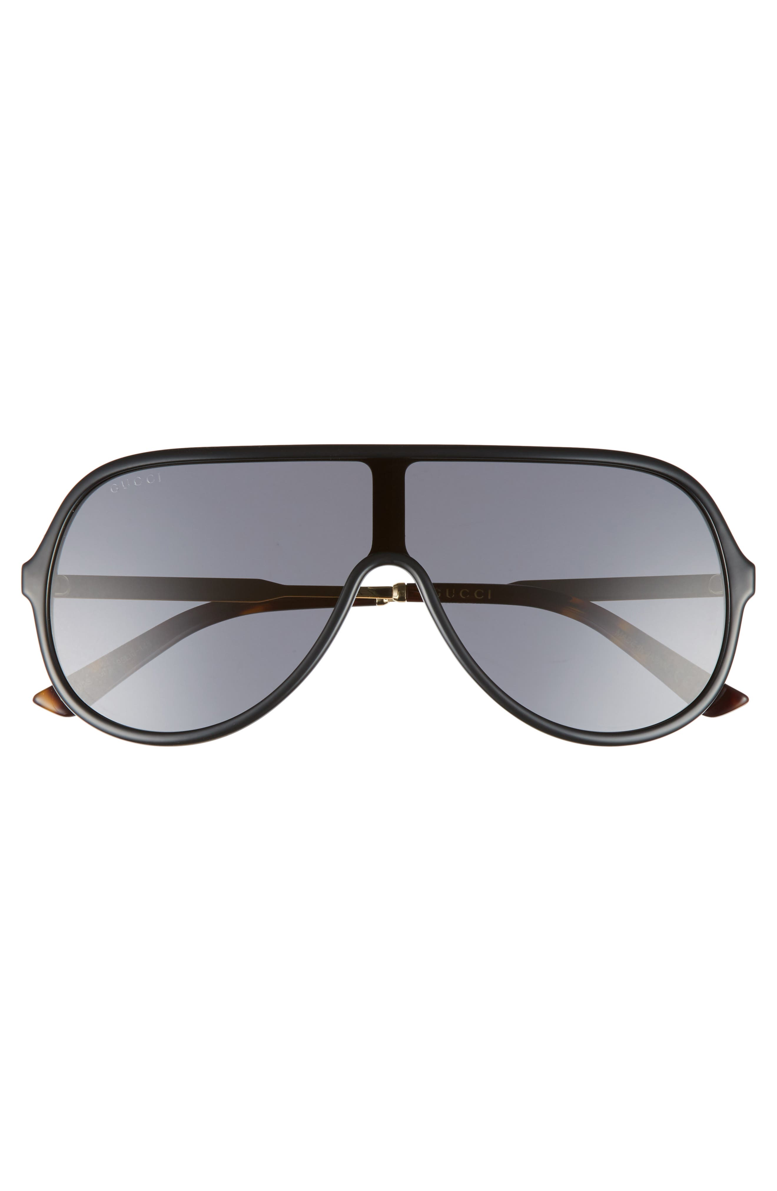 Alternate Image 2  - Gucci 99mm Oversize Shield Sunglasses
