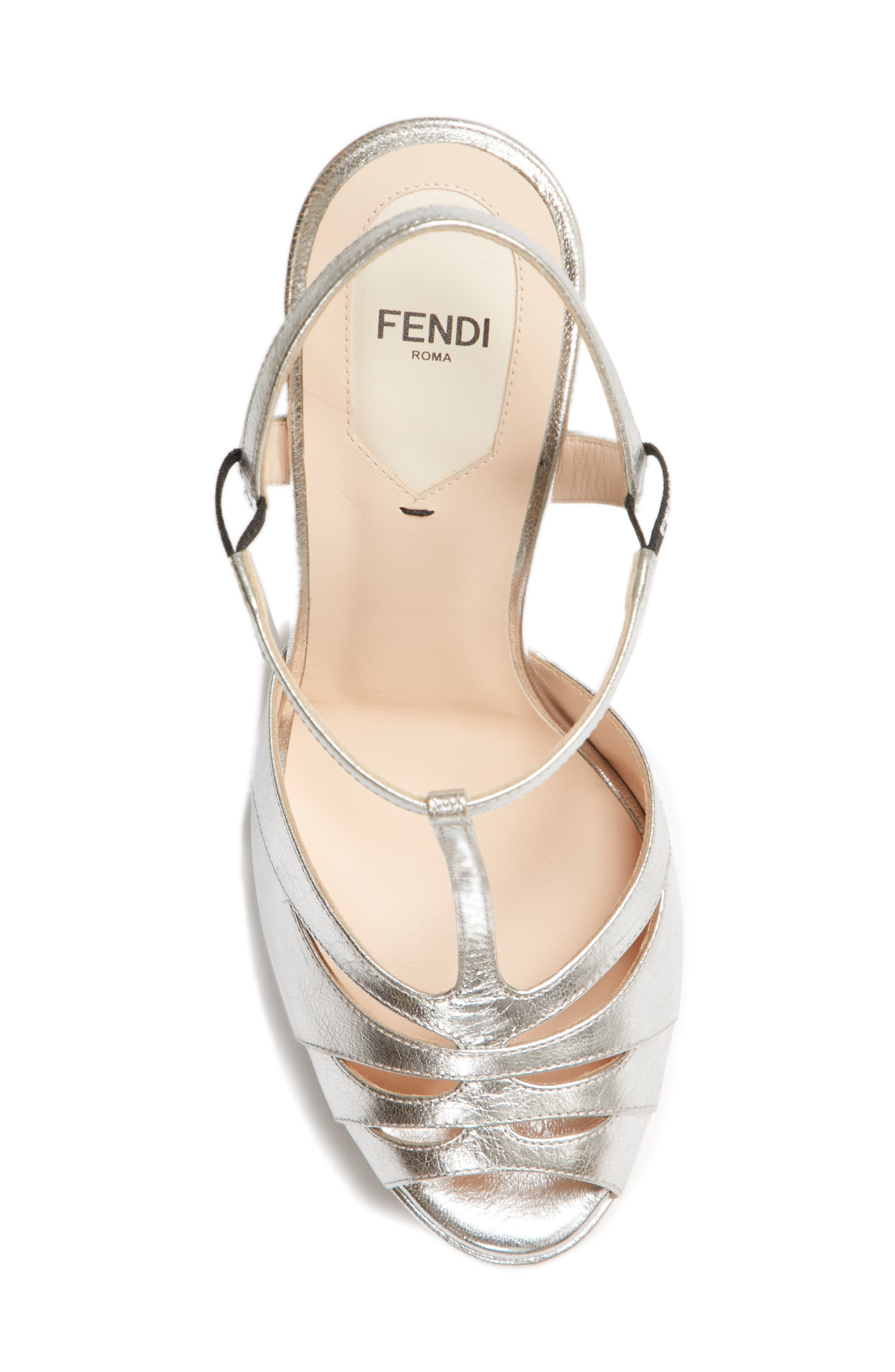 Alternate Image 5  - Fendi Duo Platform Sandal (Women)