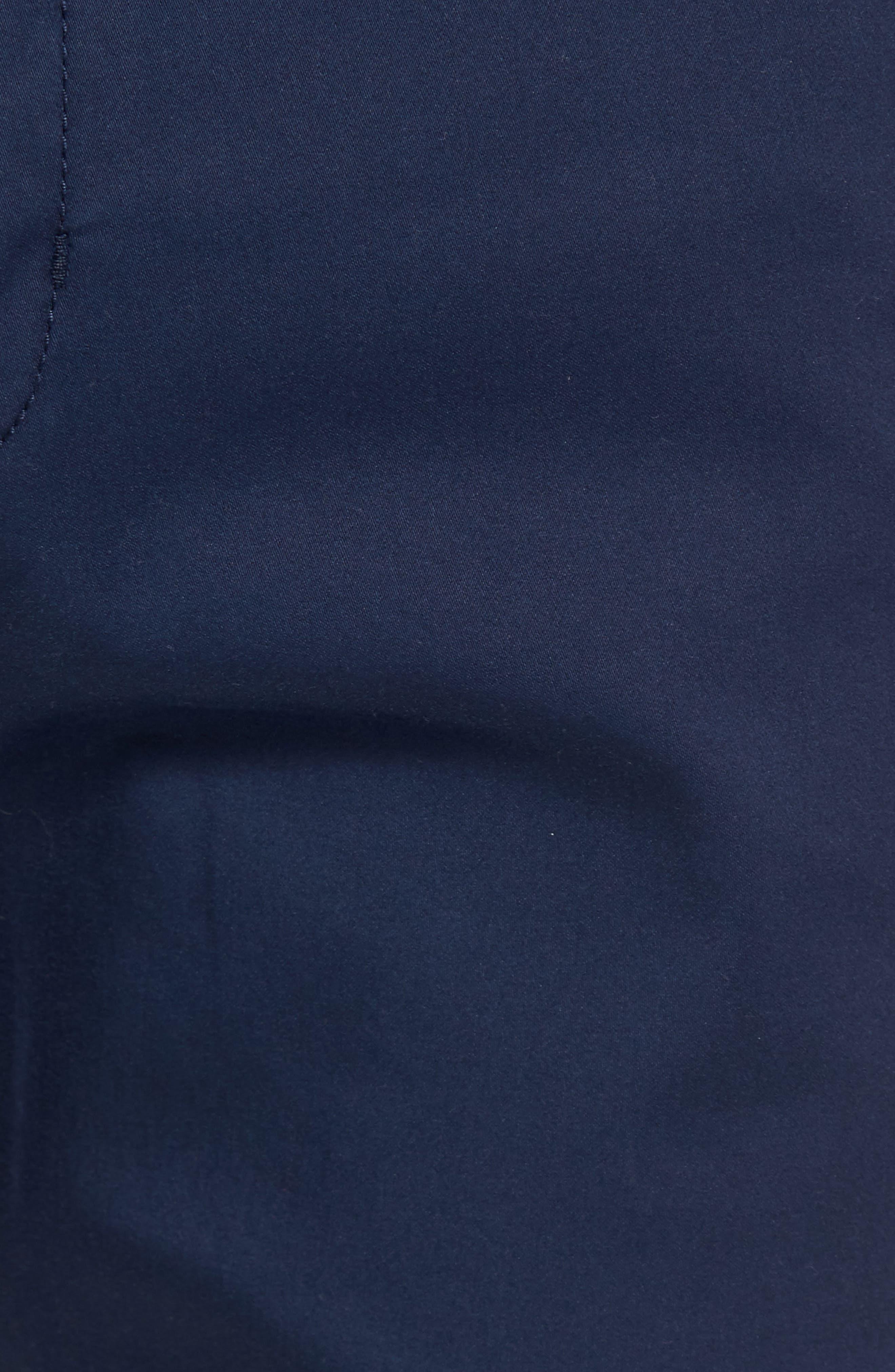 Boracay Flat Front Pants,                             Alternate thumbnail 5, color,                             Maritime
