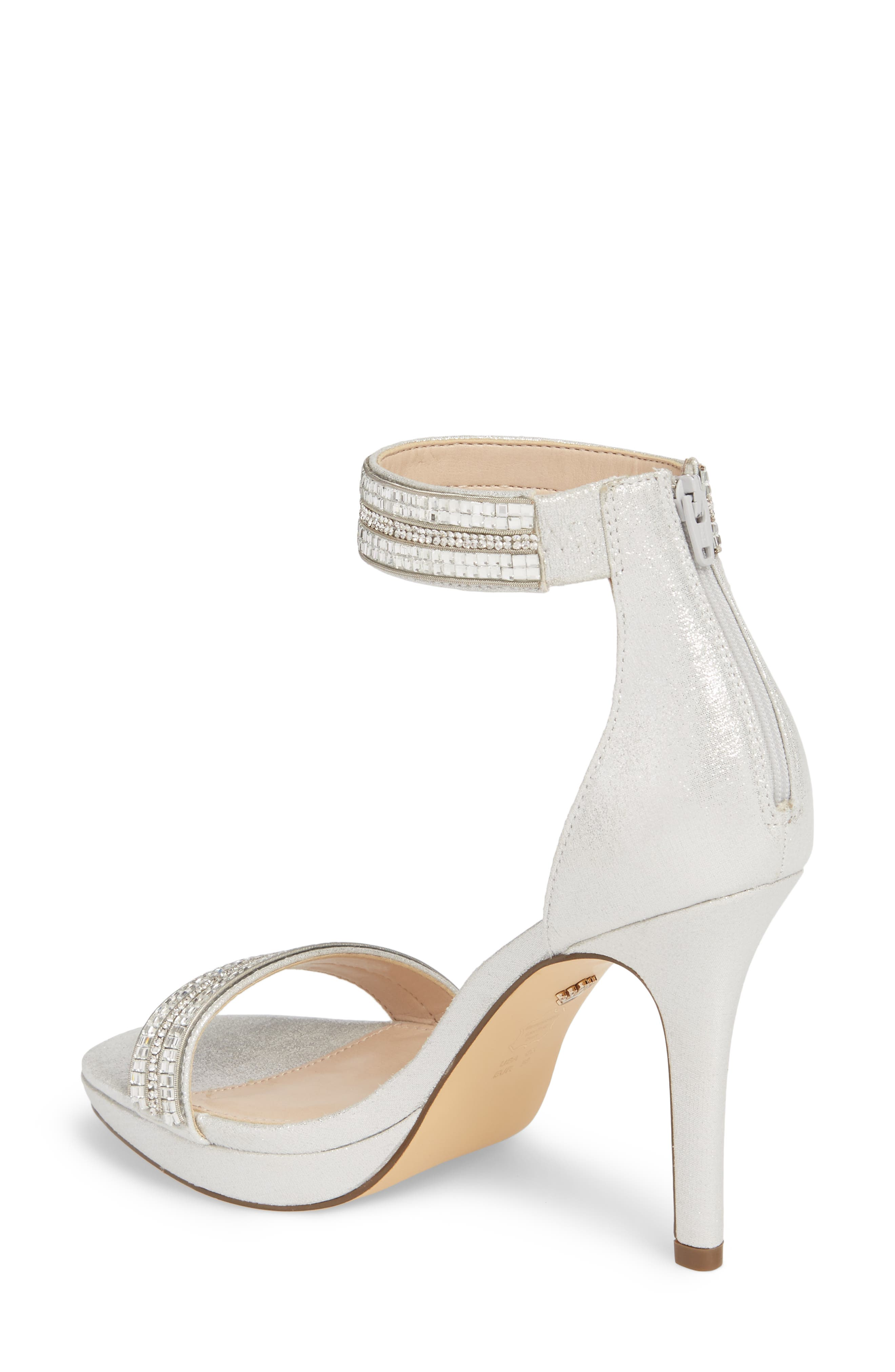 Alternate Image 2  - Nina Aubrie Ankle Strap Sandal (Women)