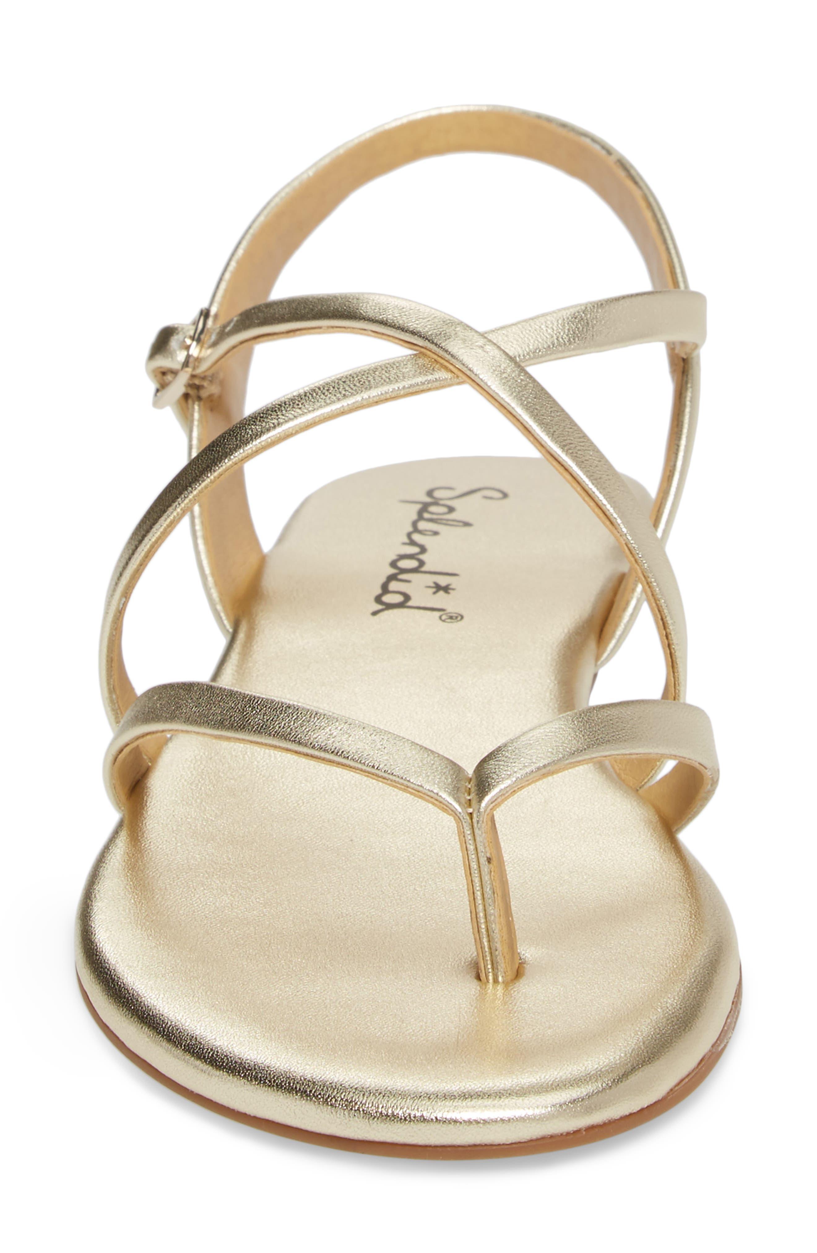 Alternate Image 4  - Splendid Brett Strappy Flat Sandal (Women)