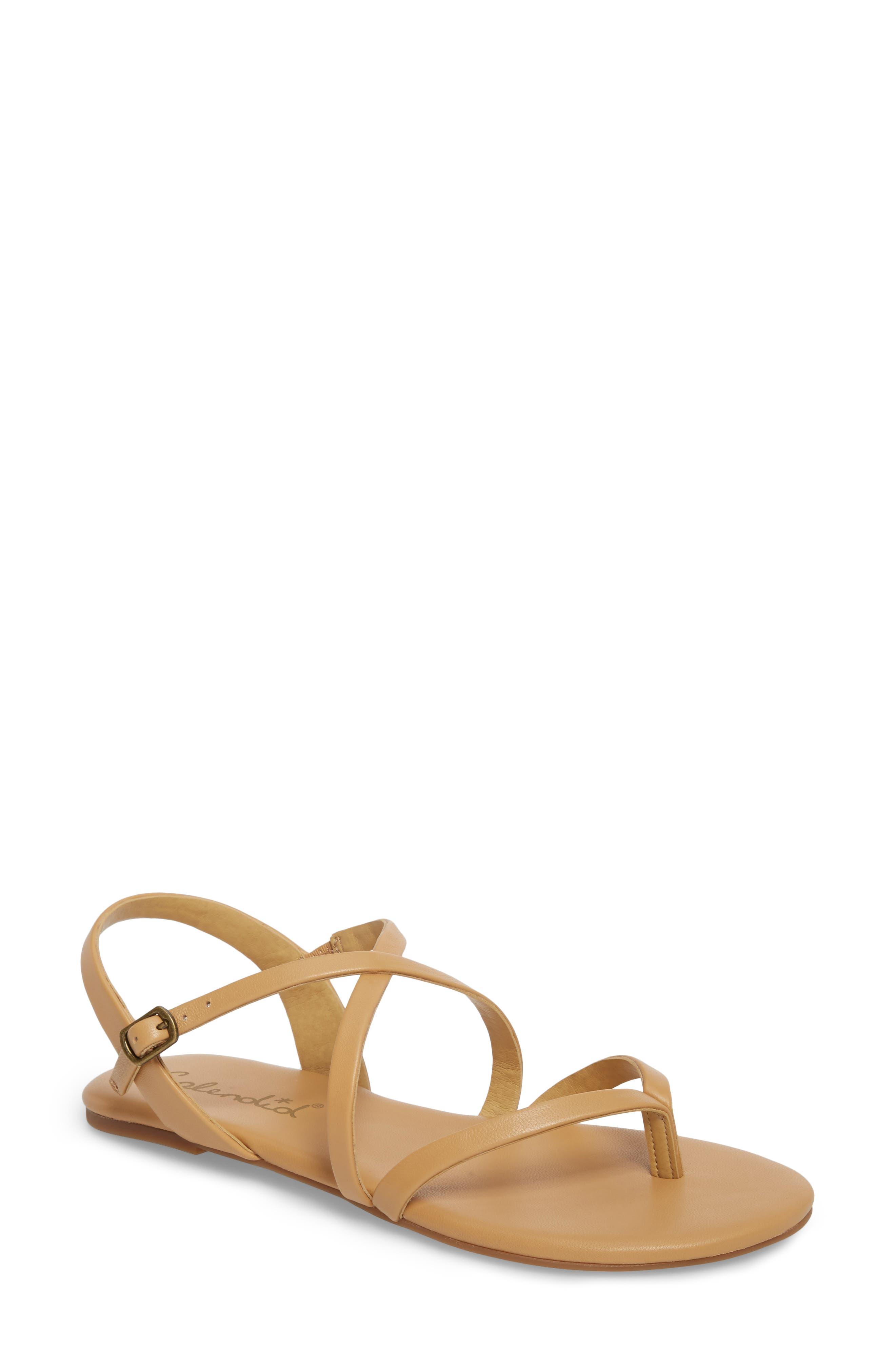 Splendid Brett Strappy Flat Sandal (Women)