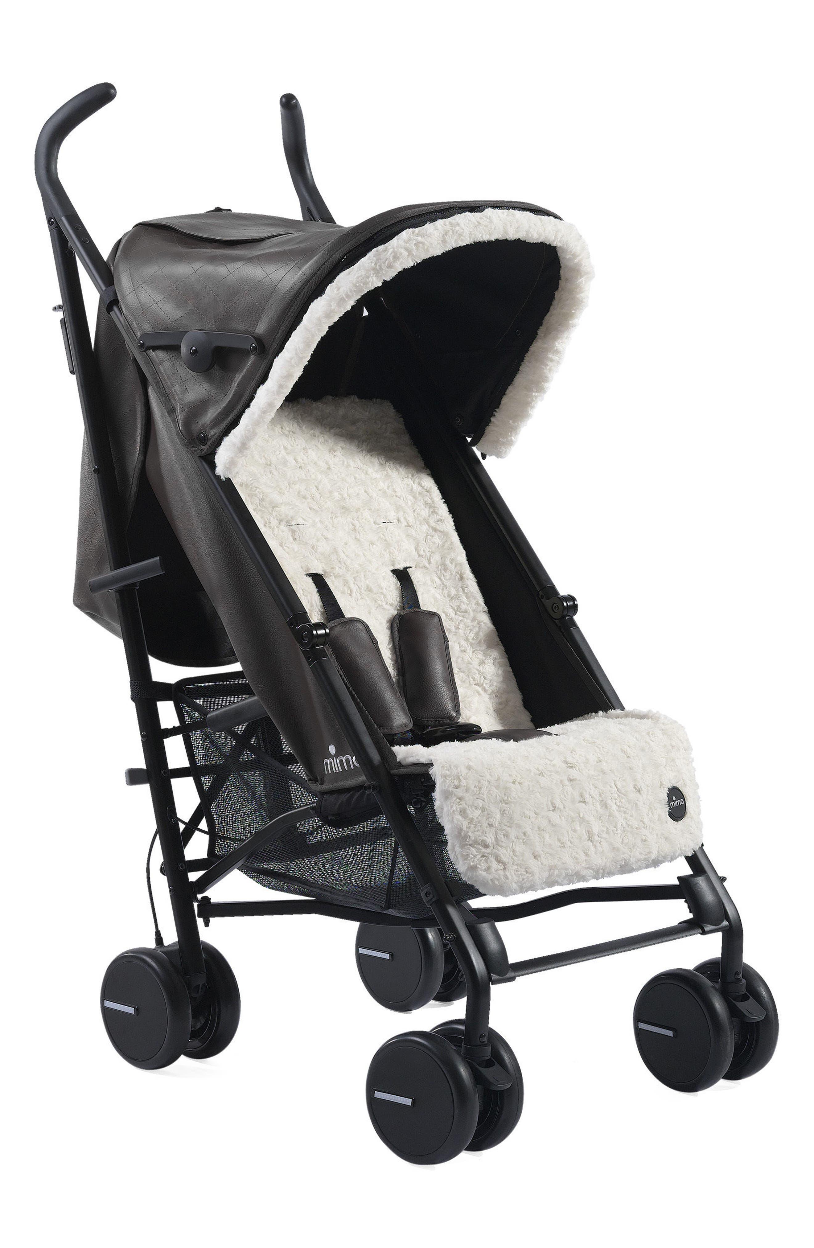 Main Image - Mima Sun Duck High Pile Fleece Visor & Seat Liner Fabric Fashion Kit for Mima Bo Stroller