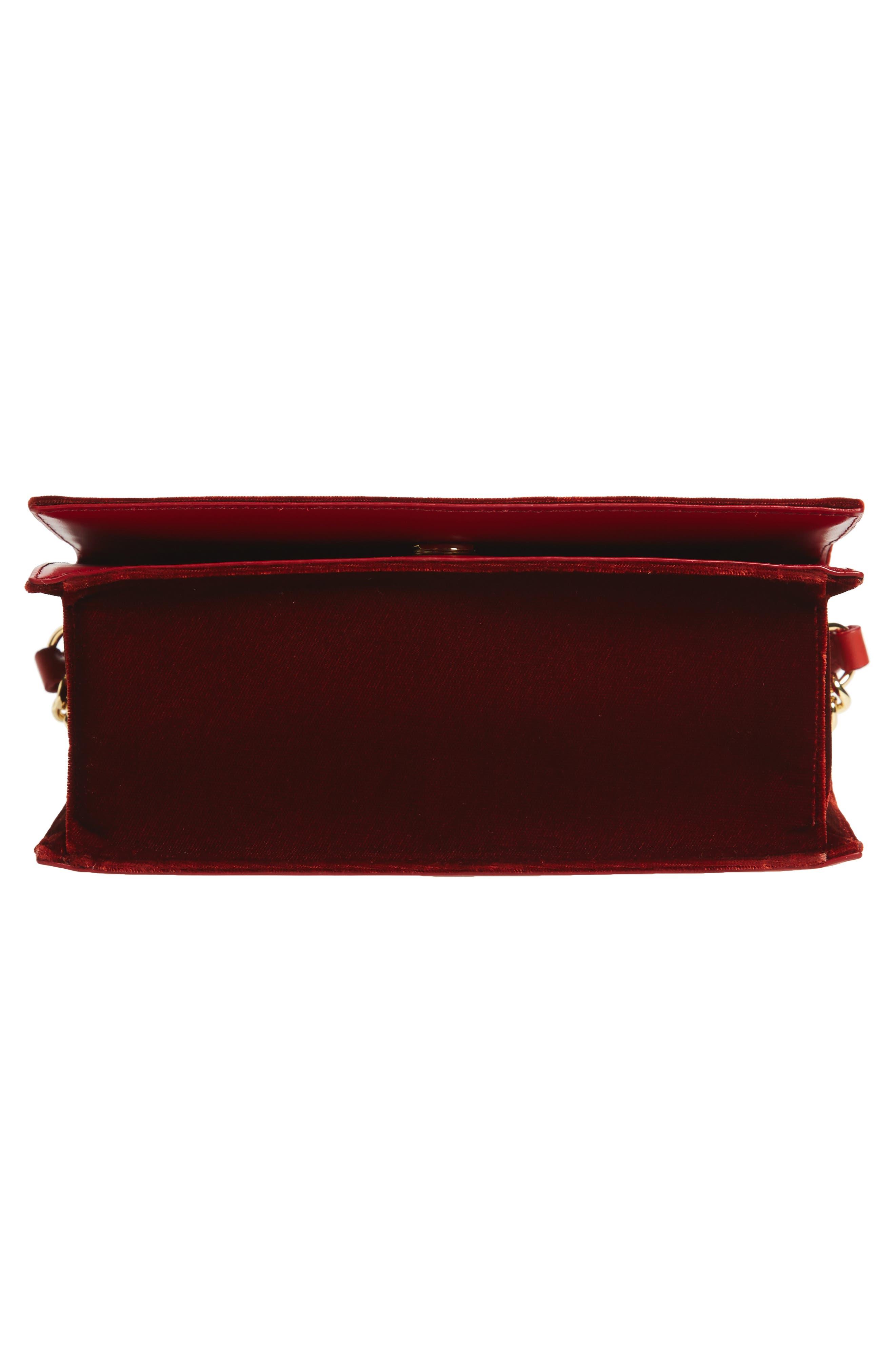 Alternate Image 6  - Diane von Furstenberg Soirée Velvet Top Handle Bag