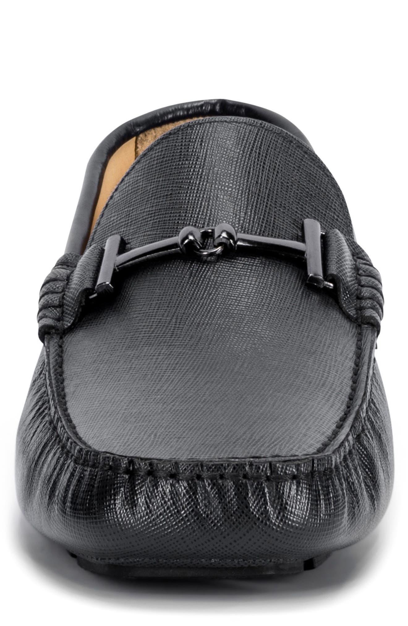 Capri Driving Shoe,                             Alternate thumbnail 4, color,                             Black