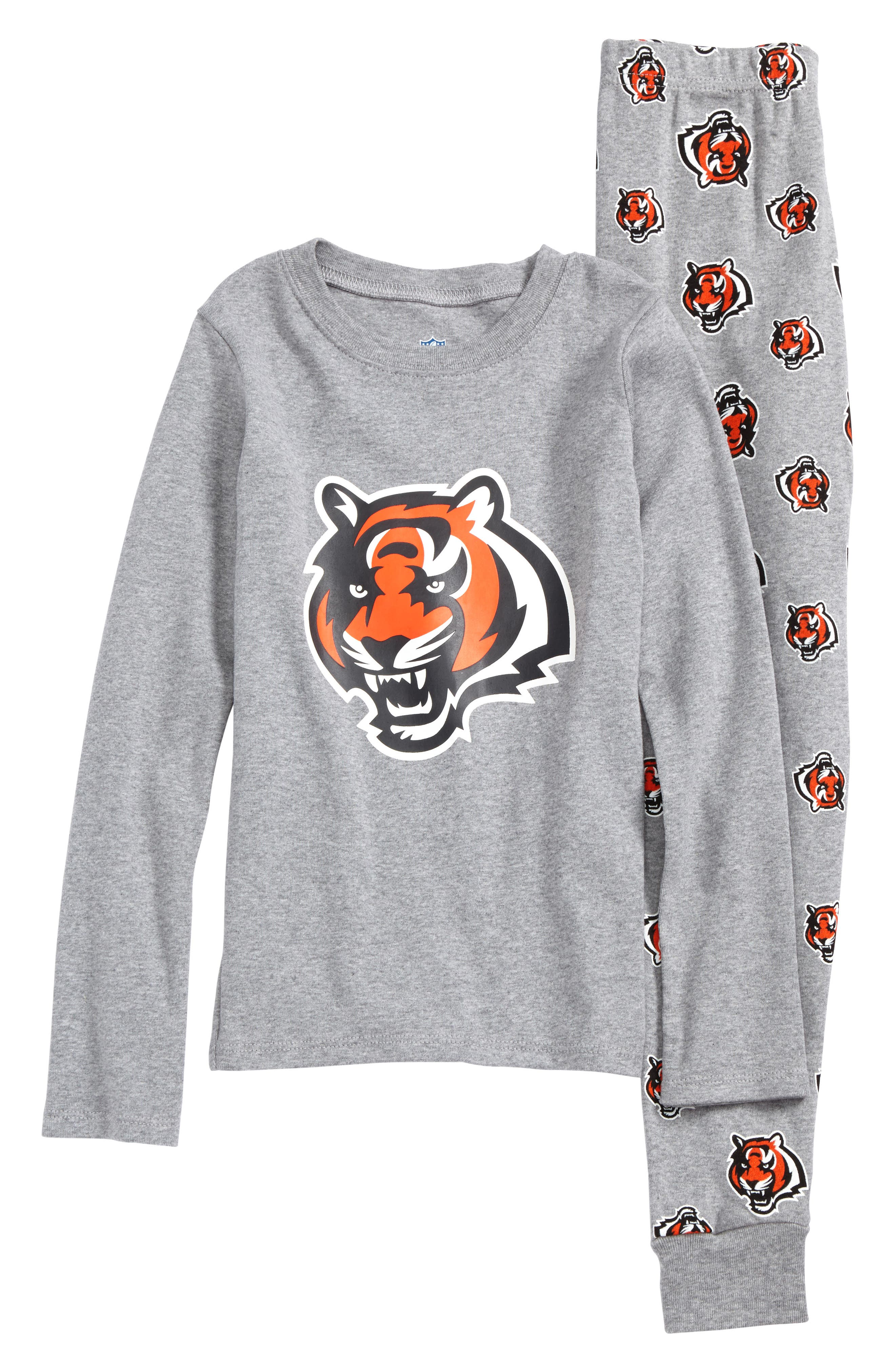 NFL Logo Team Fitted Two-Piece Pajamas (Big Boys)