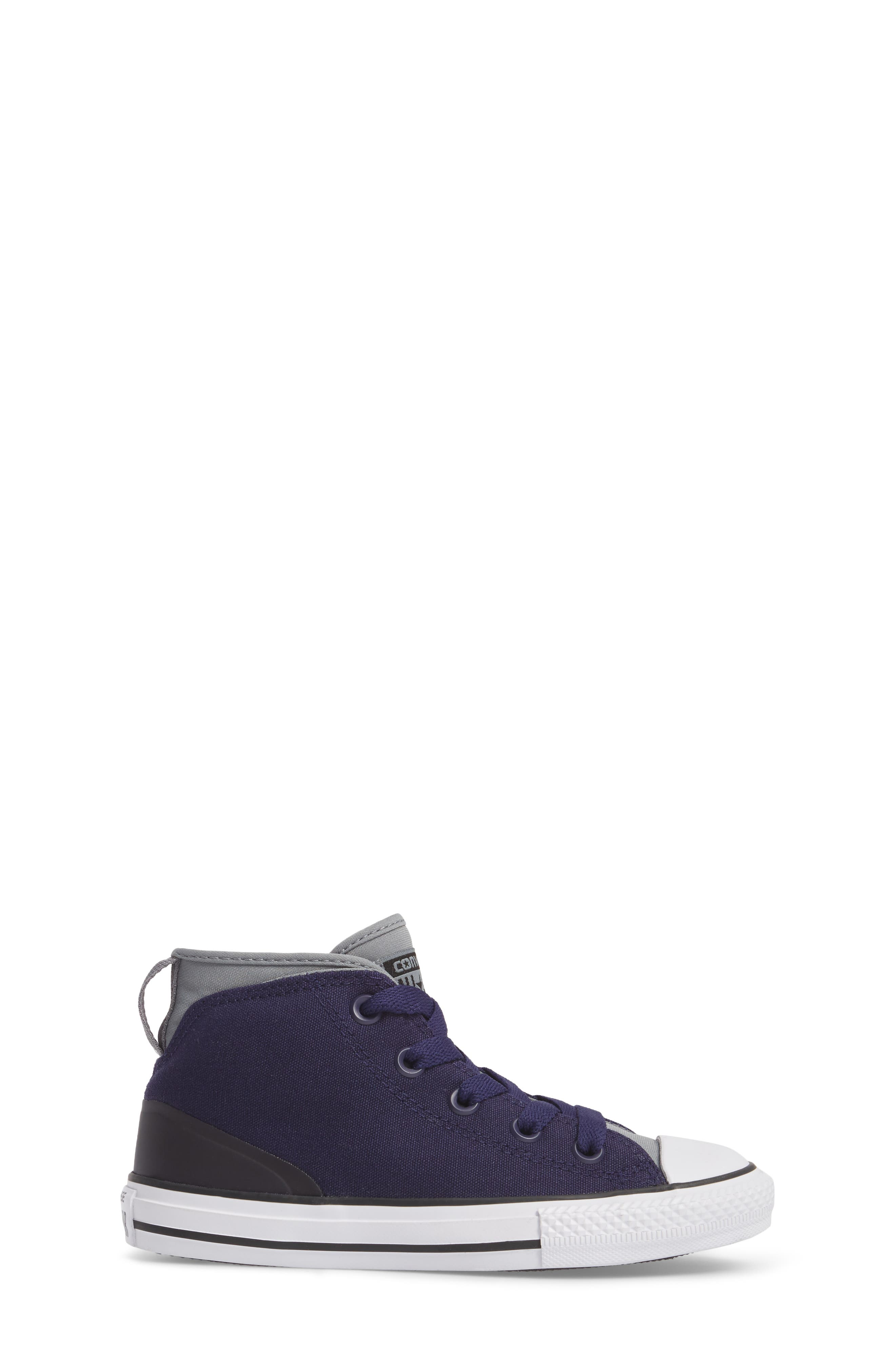 Chuck Taylor<sup>®</sup> All Star<sup>®</sup> Syde Street High Top Sneaker,                             Alternate thumbnail 3, color,                             Midnight Canvas