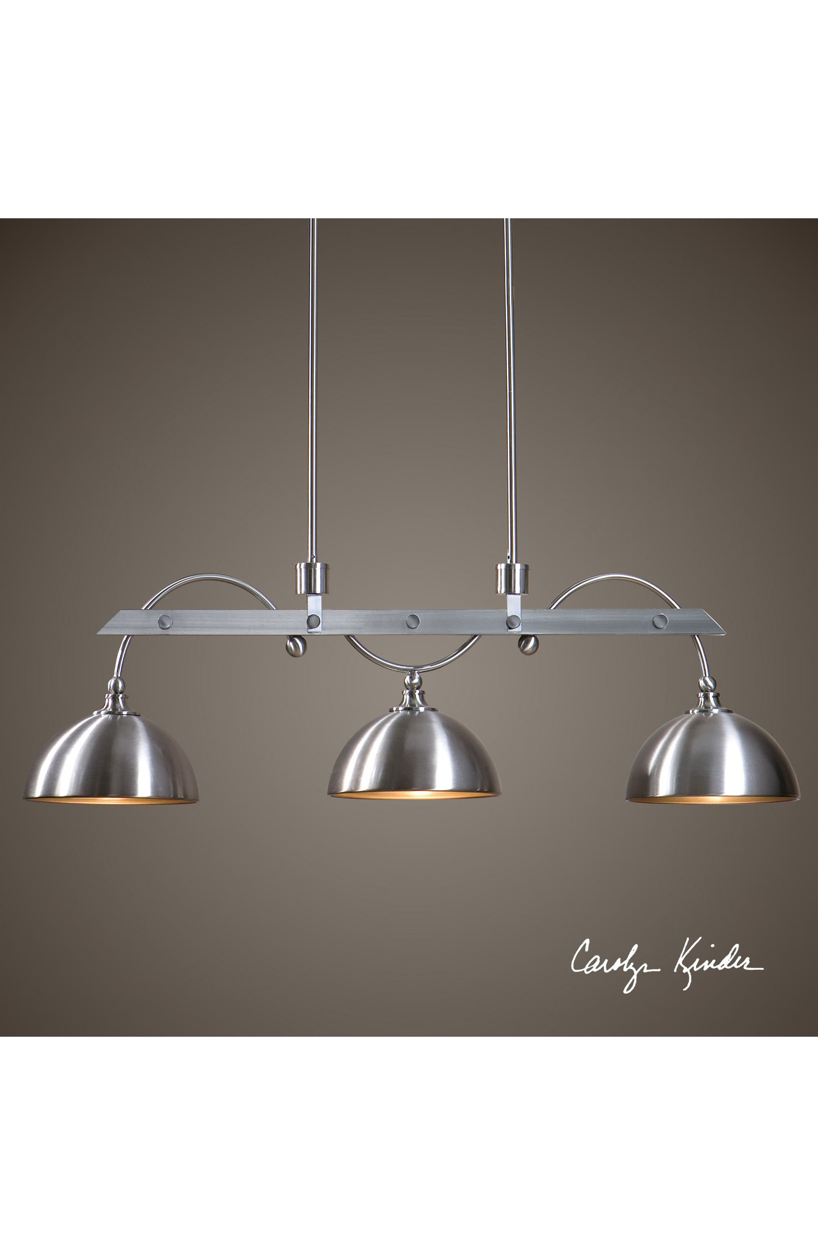Malcolm Three-Light Fixture,                             Alternate thumbnail 2, color,                             Grey