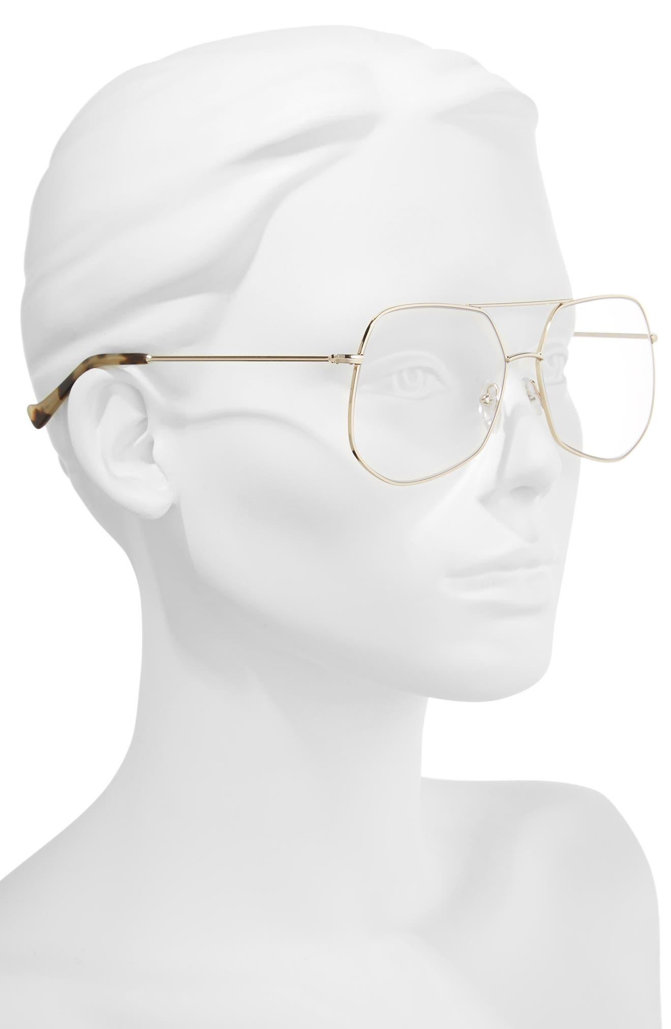 Mesh 61mm Optical Glasses,                             Alternate thumbnail 2, color,                             Gold