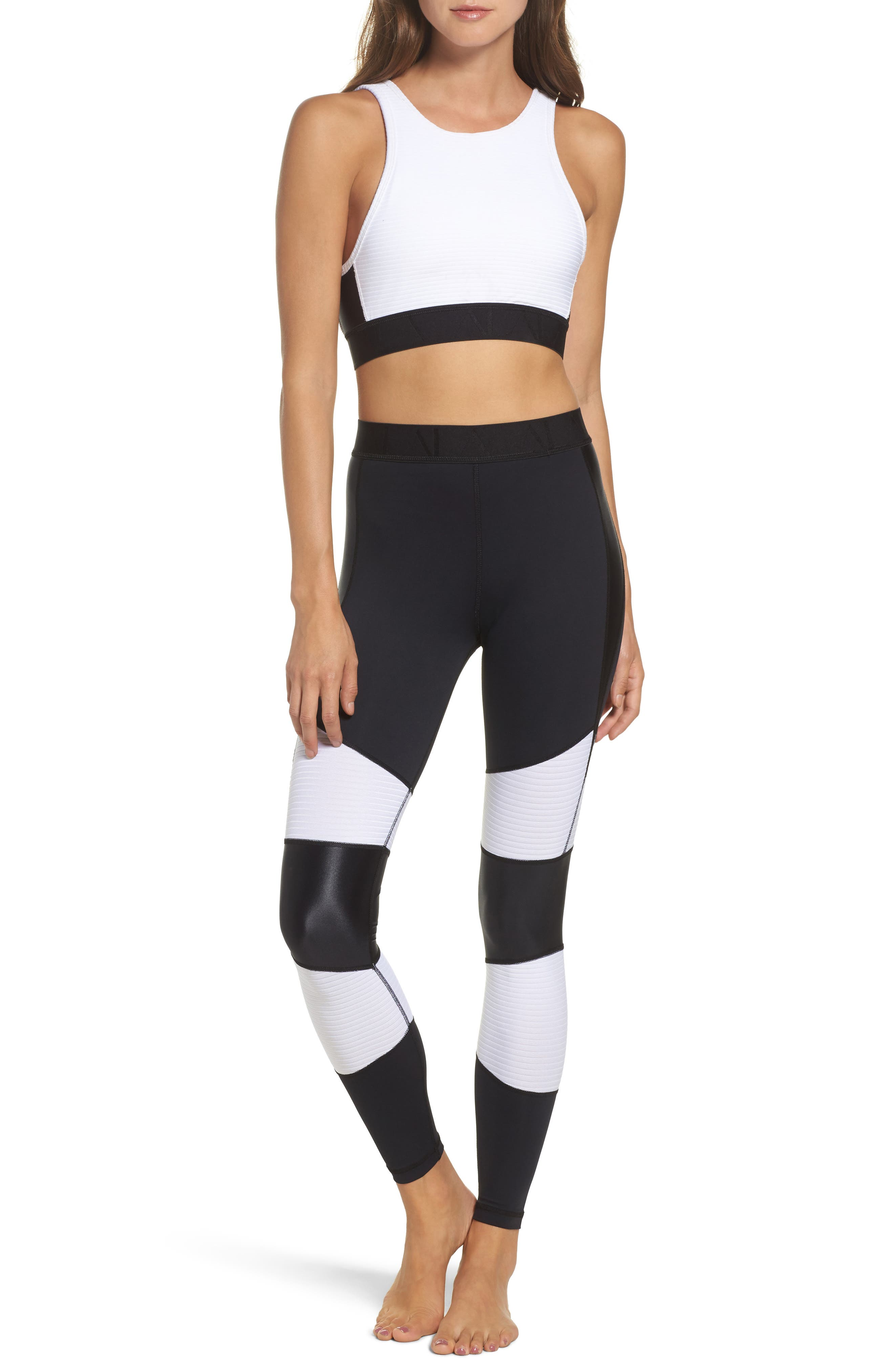 Harley Tights,                             Alternate thumbnail 8, color,                             White