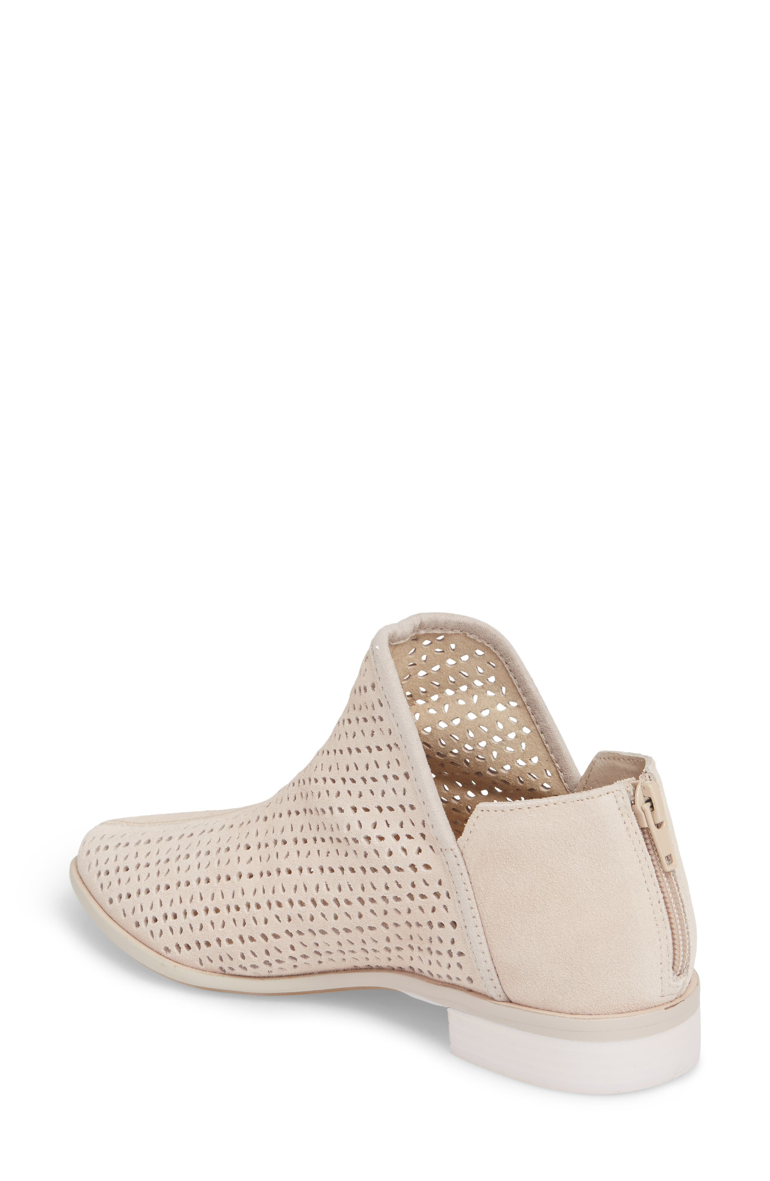 Alley Perforated Bootie,                             Alternate thumbnail 2, color,                             Wheat