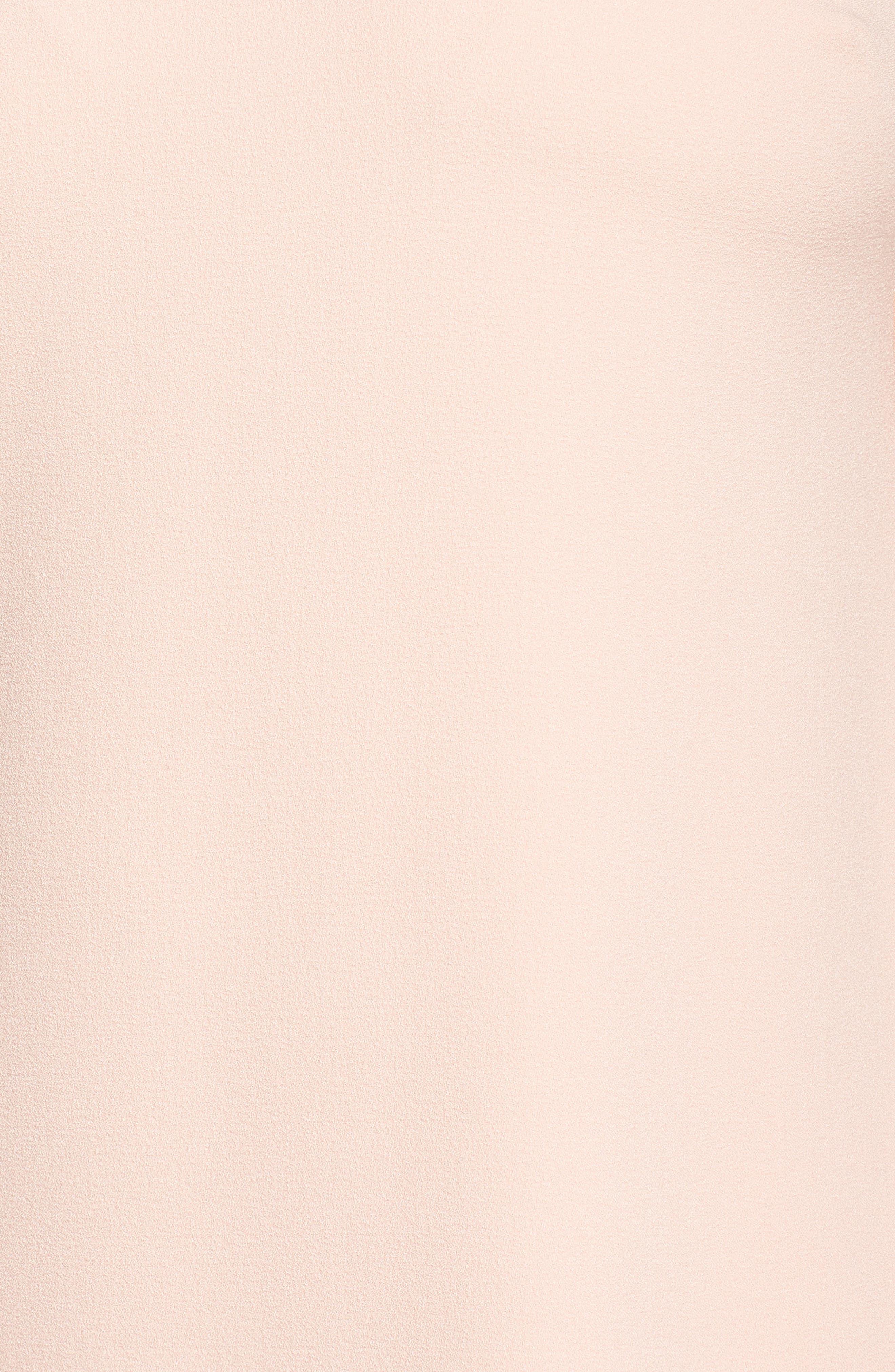 Balloon Sleeve Shift Dress,                             Alternate thumbnail 5, color,                             Blush