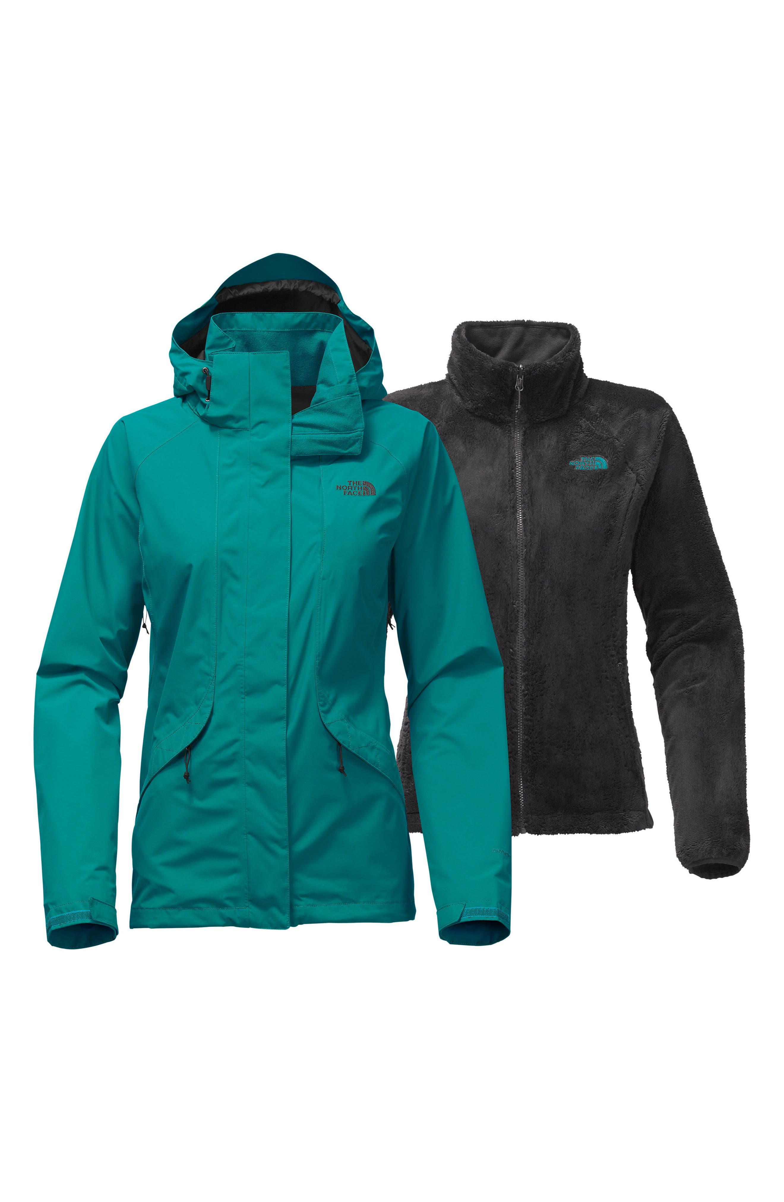 Boundary Triclimate<sup>®</sup> 3-in-1 Jacket,                             Alternate thumbnail 8, color,                             Harbor Blue