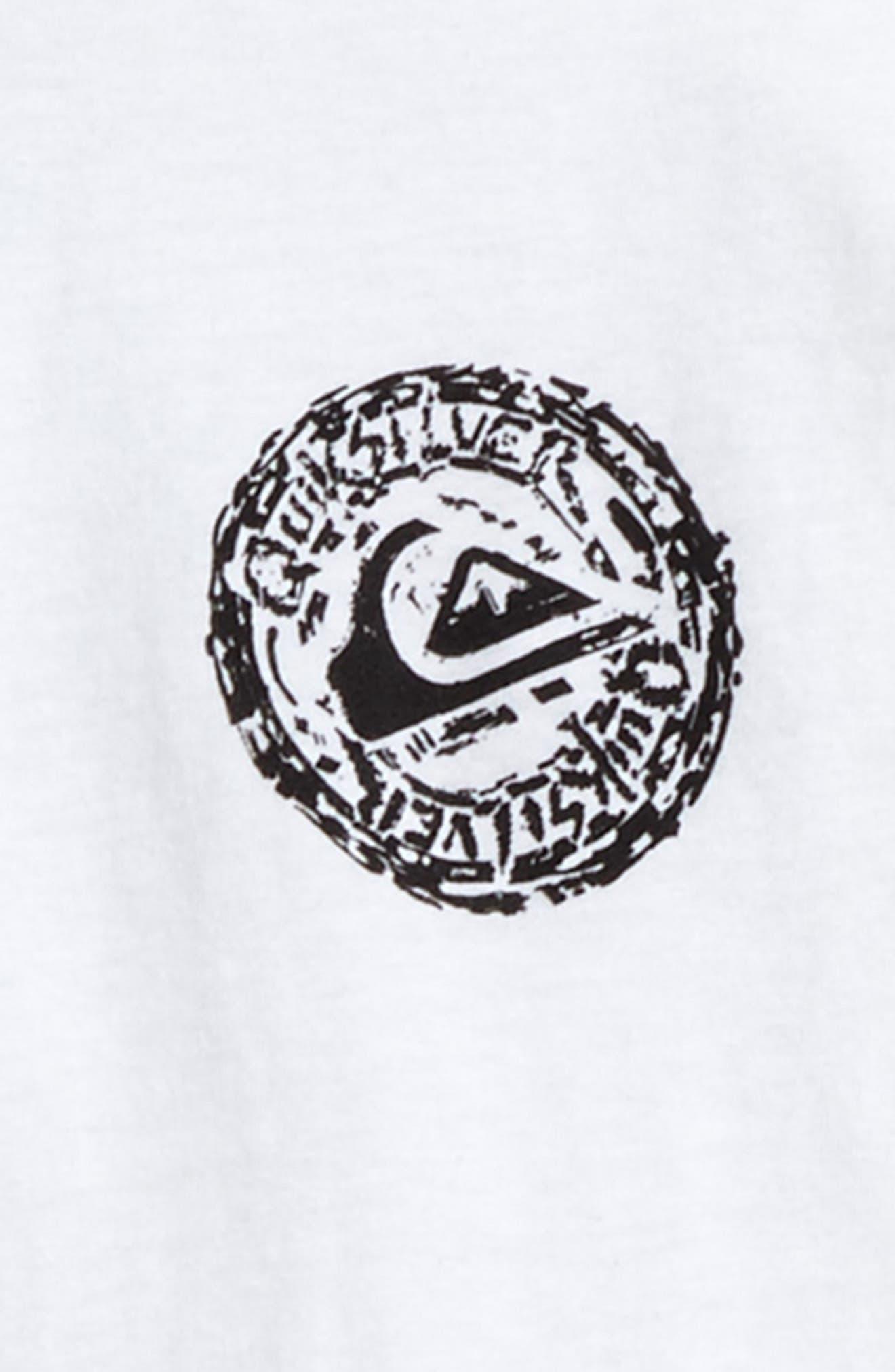 Alternate Image 3  - Quiksilver Elevens T-Shirt (Big Boys)