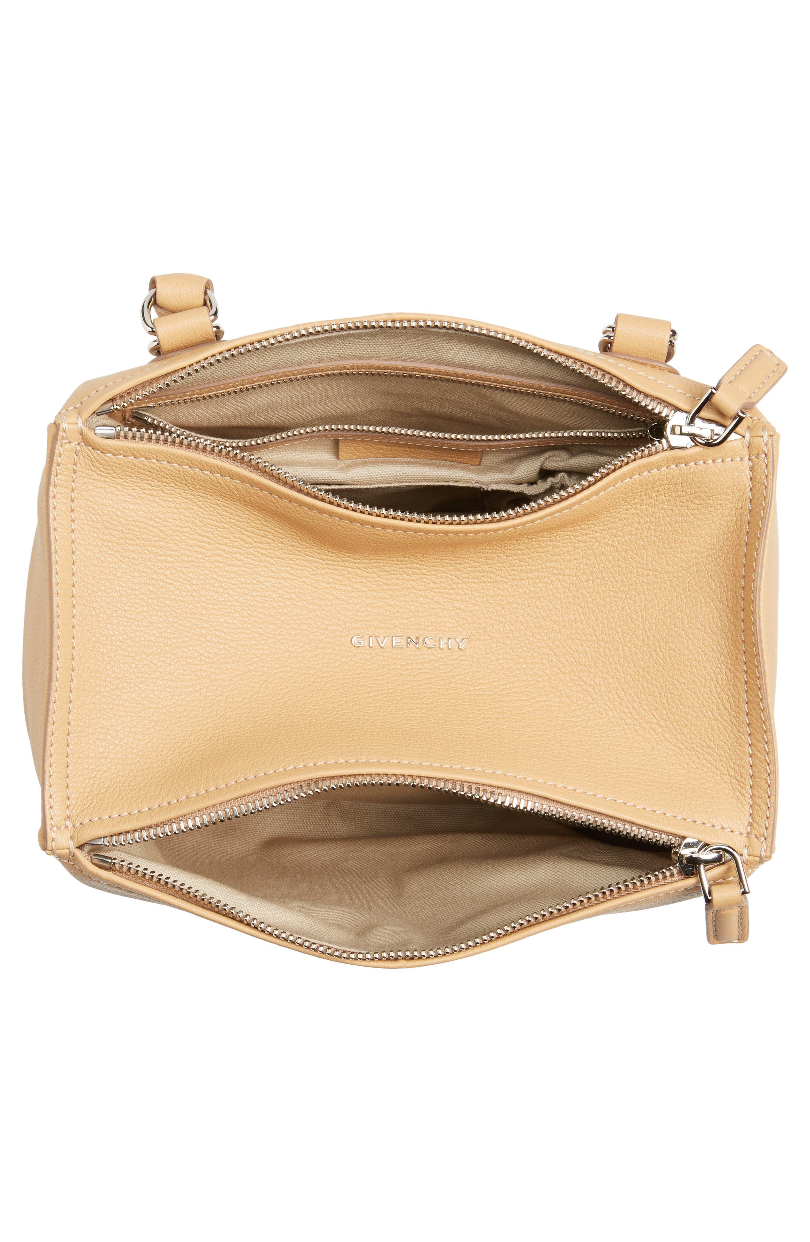 Alternate Image 4  - Givenchy 'Small Pandora' Leather Satchel