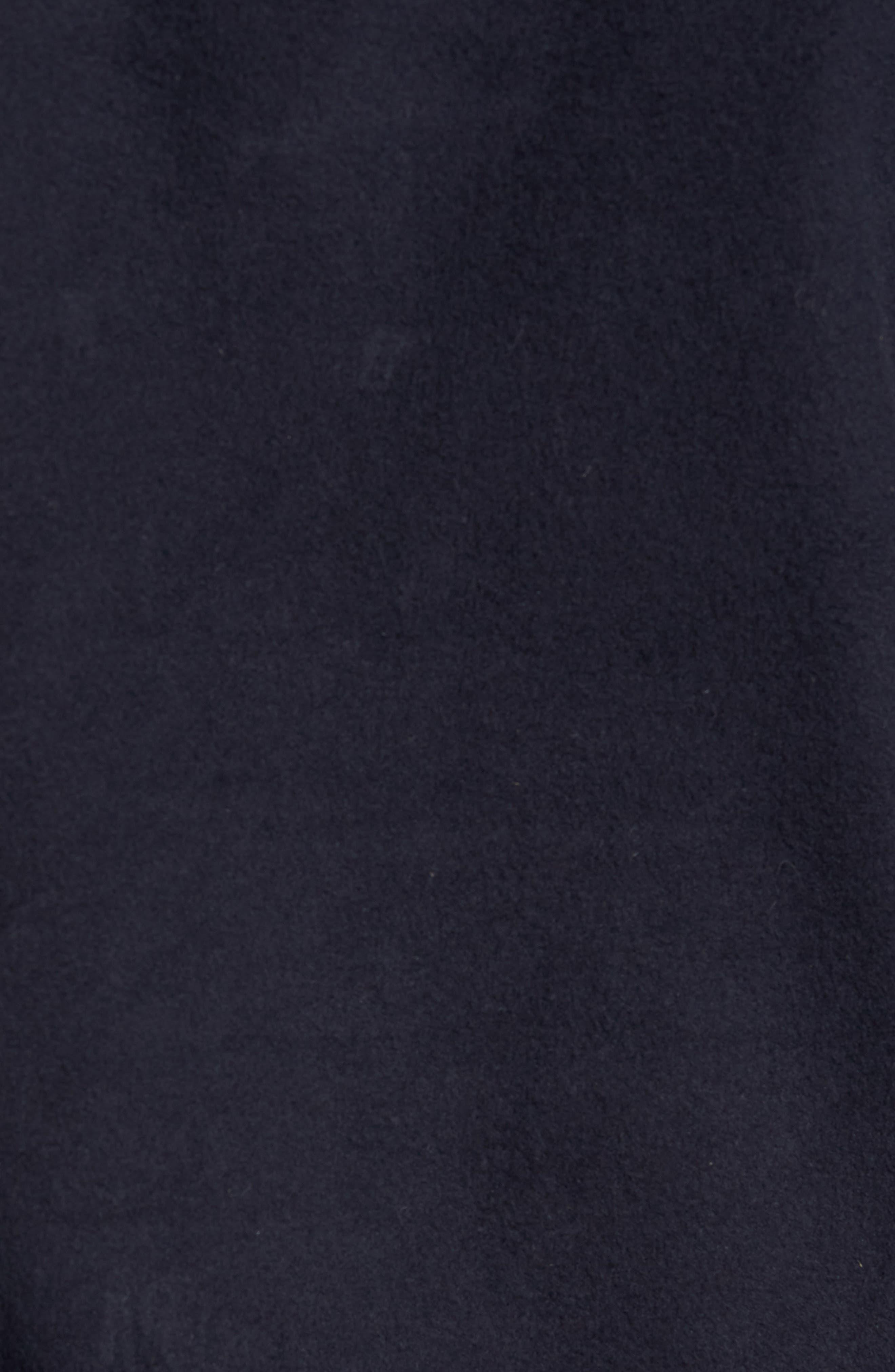 Flannel Shirt Jacket,                             Alternate thumbnail 6, color,                             Navy Iris