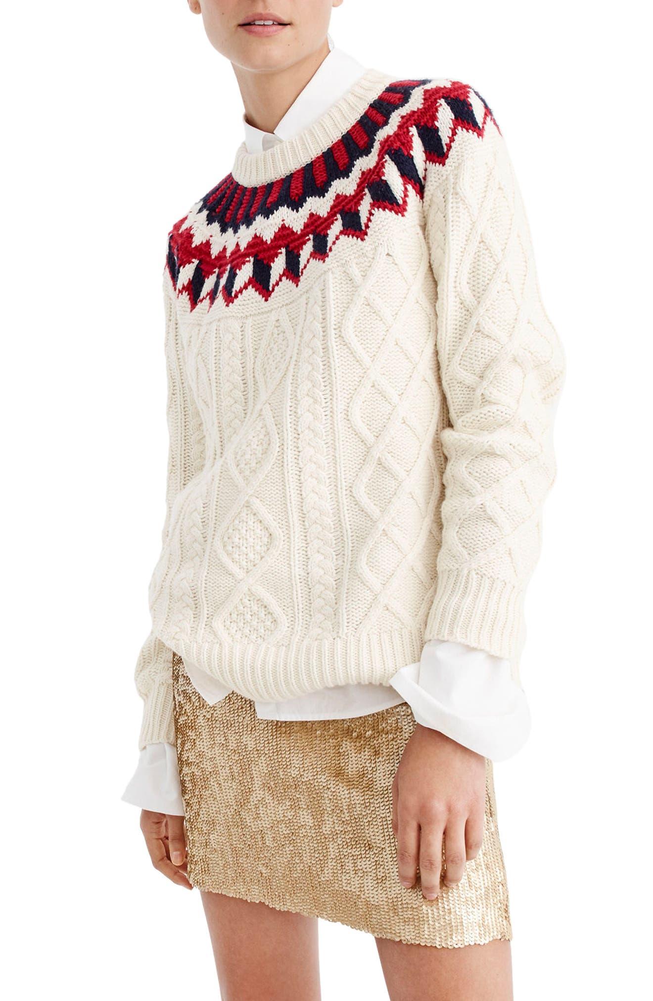 Alternate Image 3  - J.Crew Sequin Miniskirt (Regular & Petite)