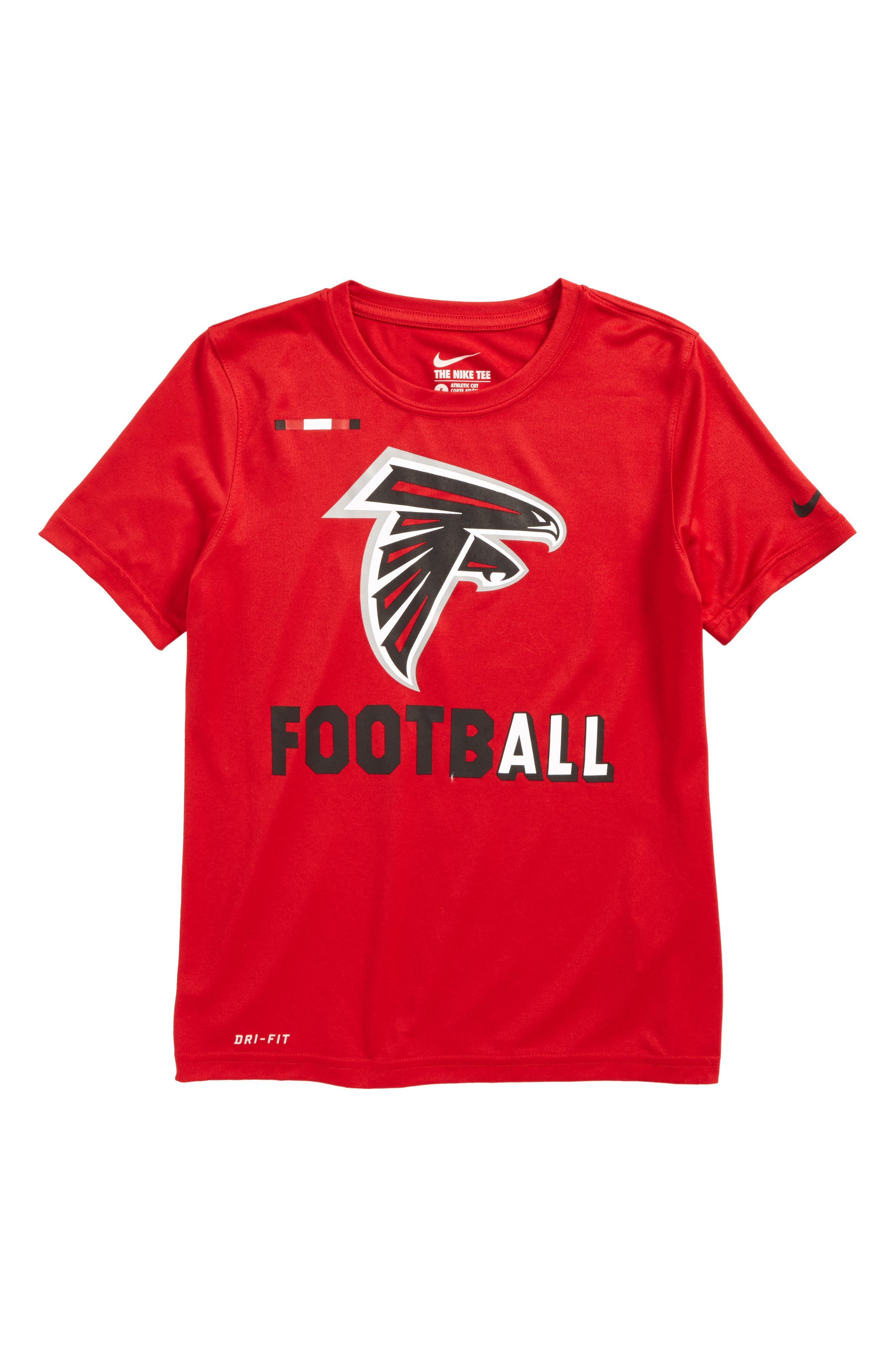 Alternate Image 1 Selected - Nike NFL Logo - Atlanta Falcons Dry T-Shirt (Big Boys)