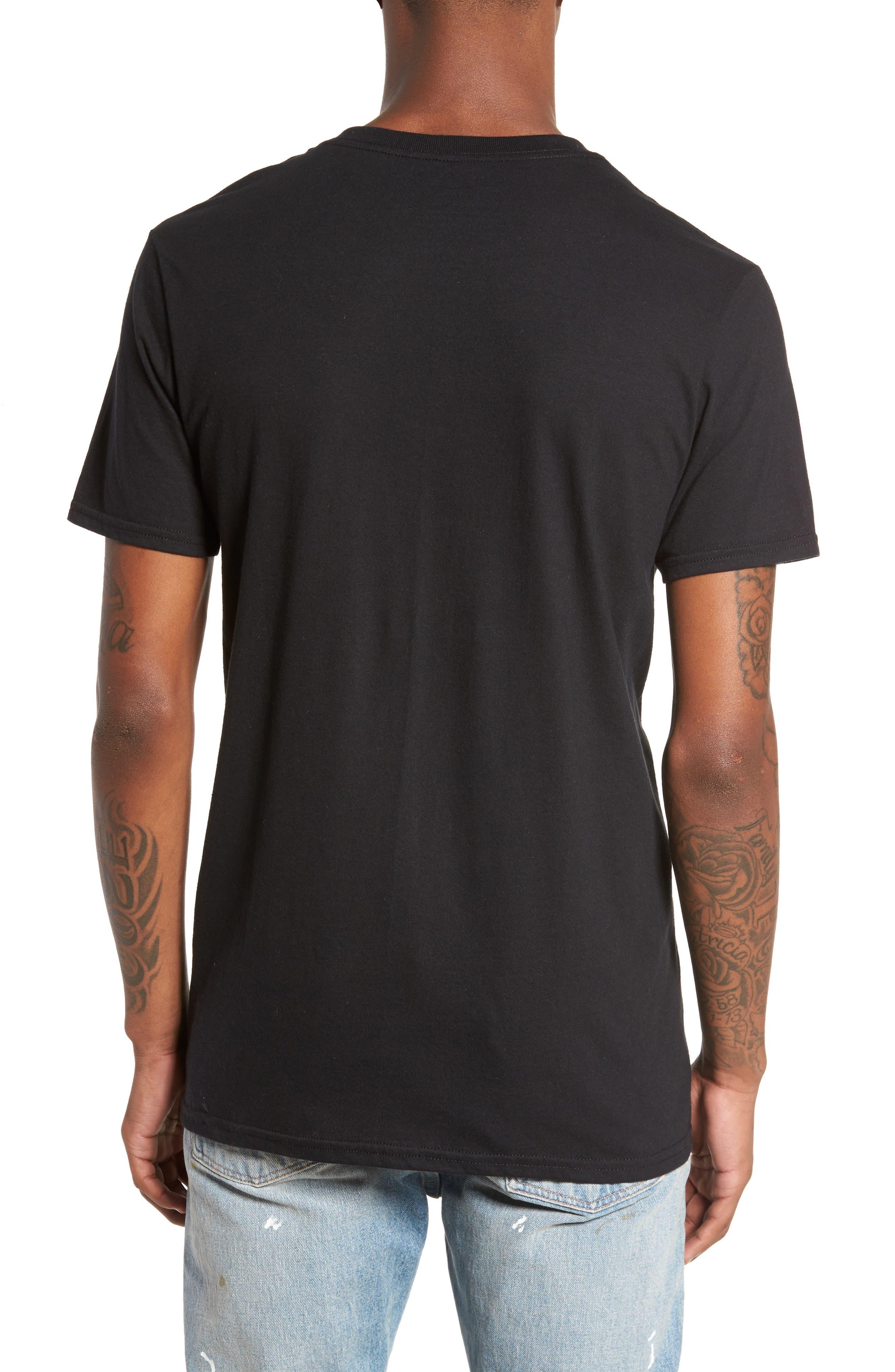 Blessed T-Shirt,                             Alternate thumbnail 2, color,                             Black Blessed