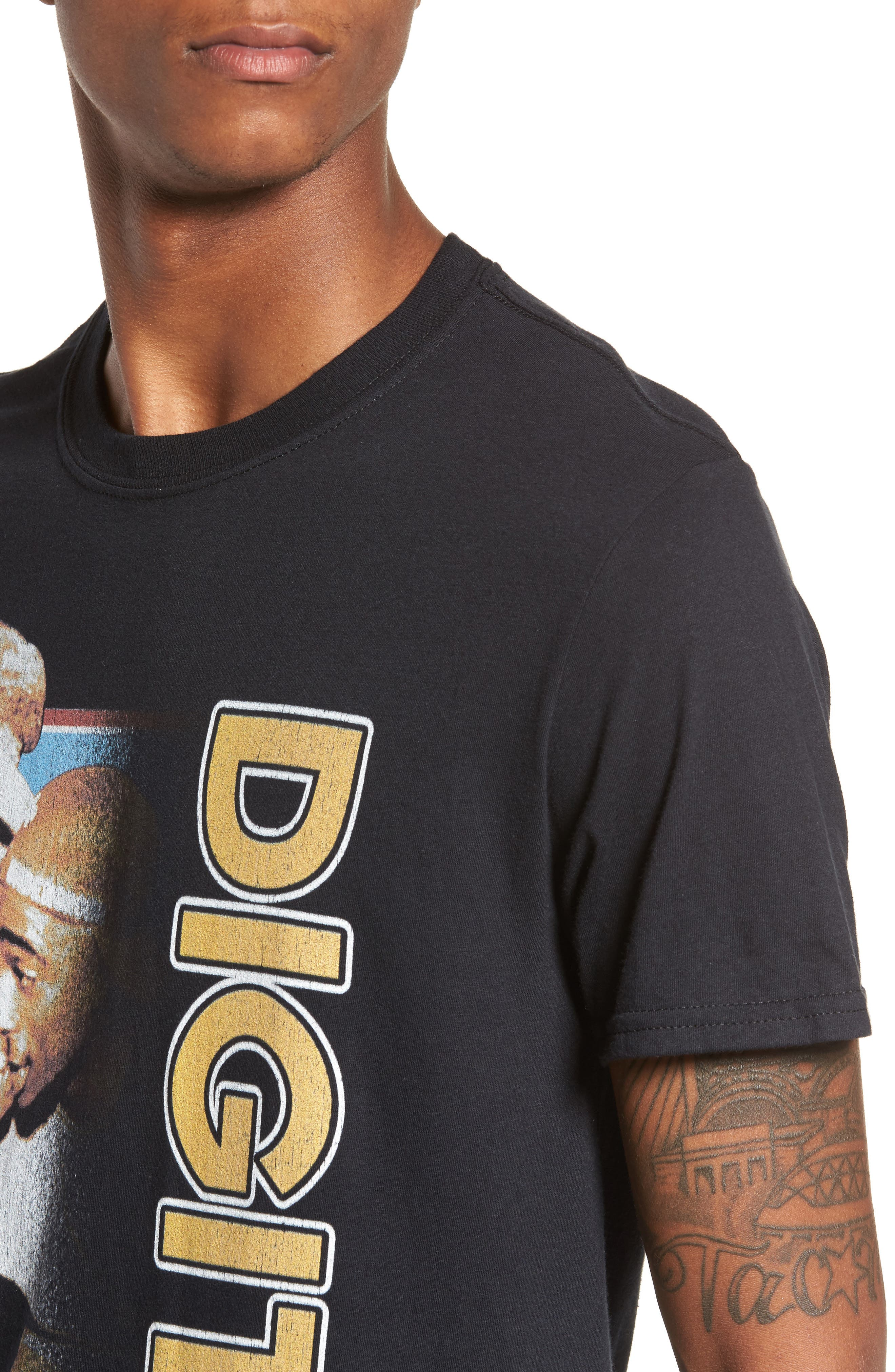 Digital Underground T-Shirt,                             Alternate thumbnail 4, color,                             Black Digital Underground