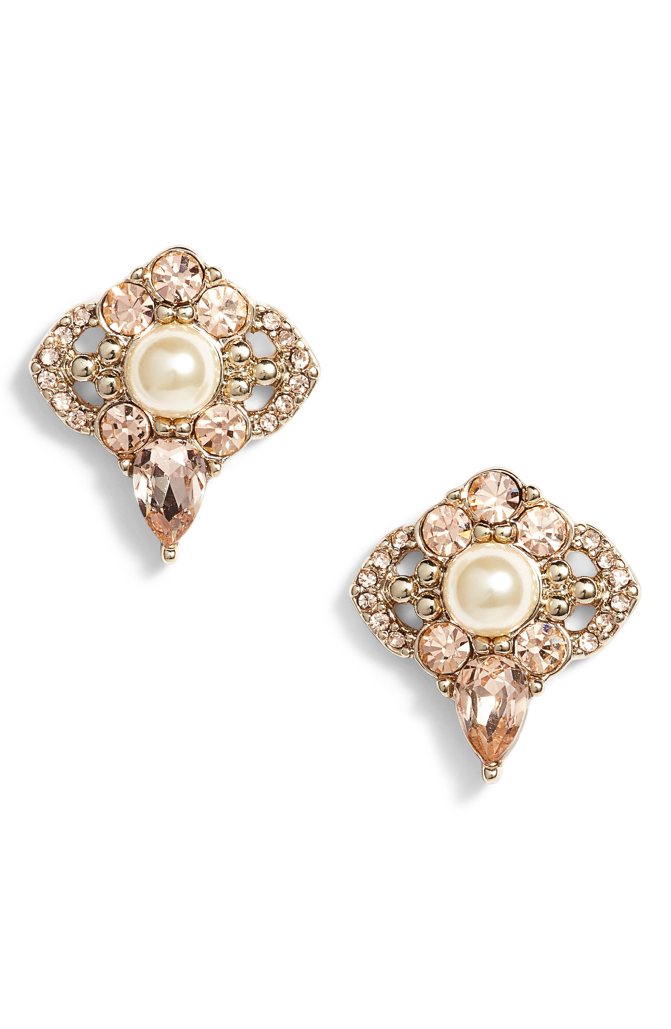 Jenny Packham Cluster Stud Earrings