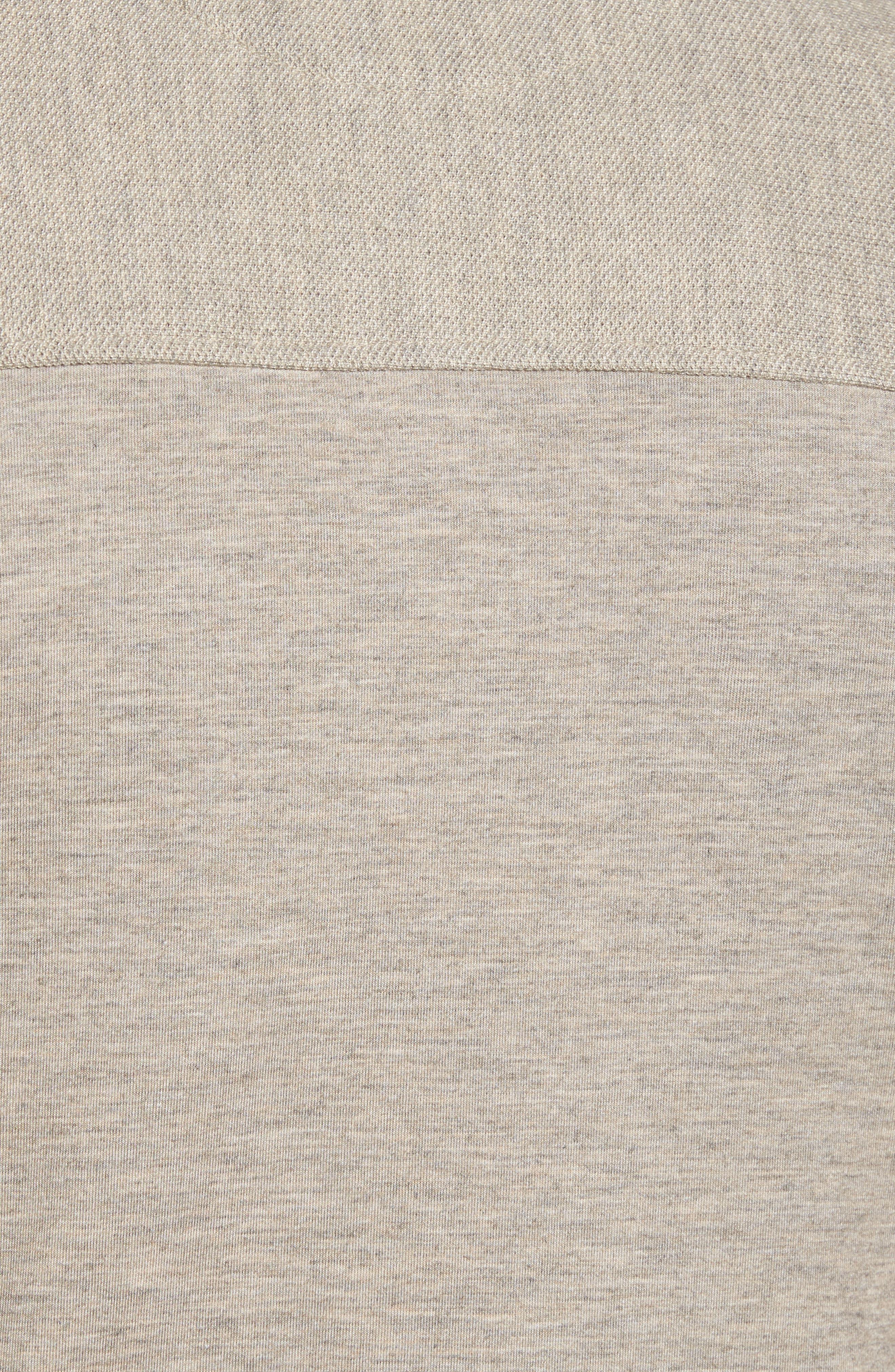 Alternate Image 5  - Ted Baker London Livstay Slim Fit Quarter Zip Pullover