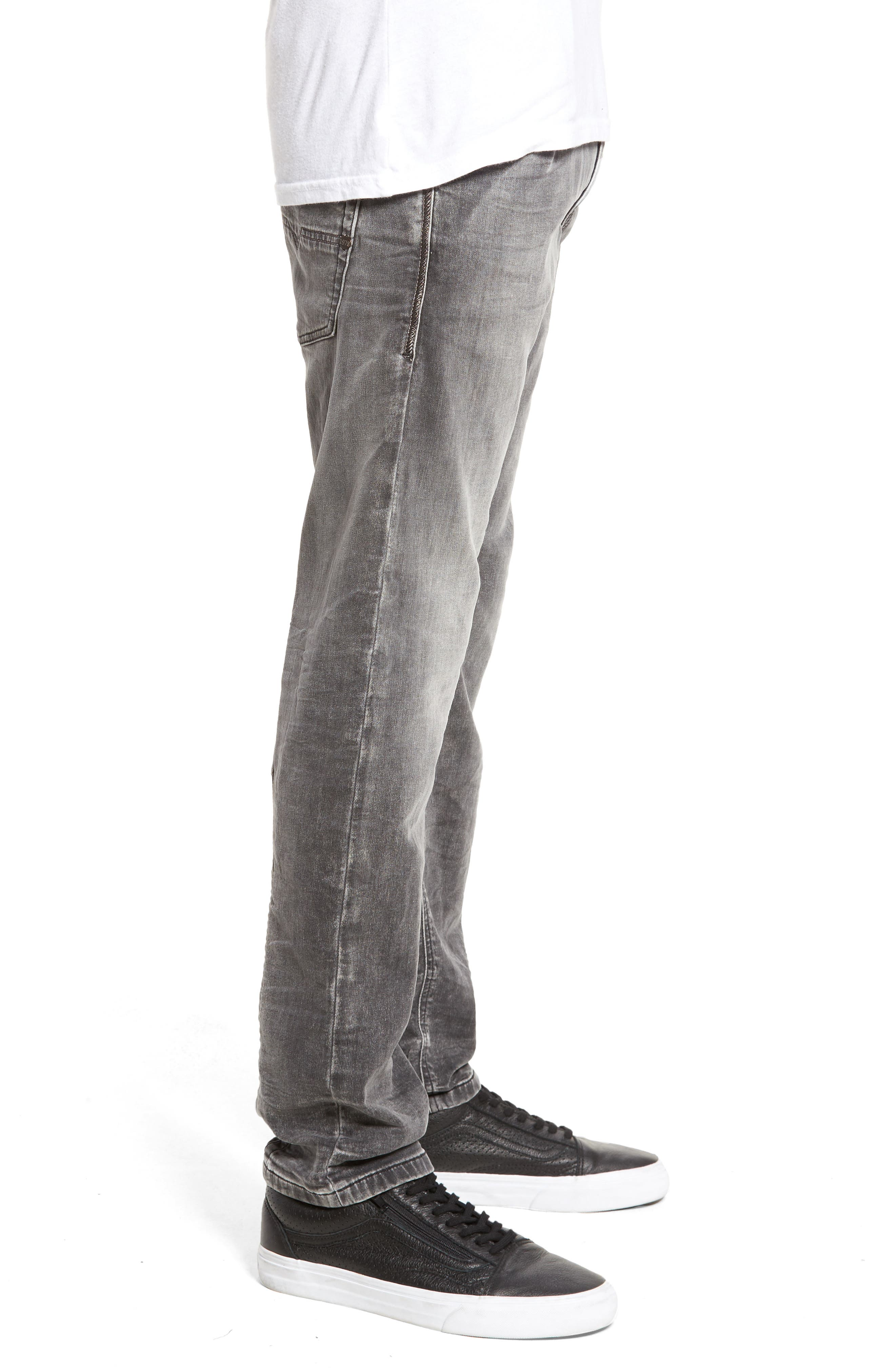 Krooley Slouchy Skinny Fit Jeans,                             Alternate thumbnail 3, color,                             0855B