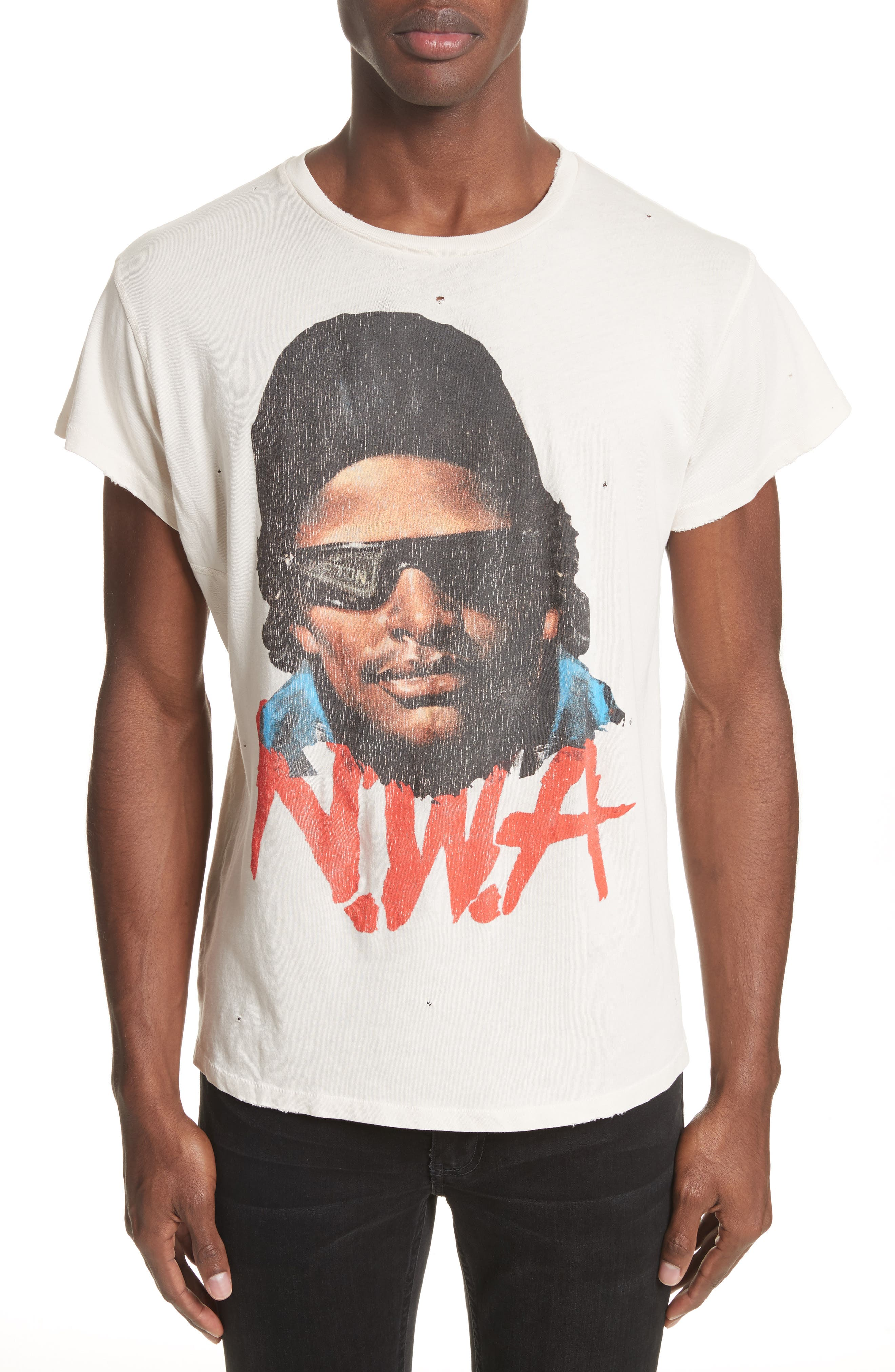 Easy E Graphic T-Shirt,                             Main thumbnail 1, color,                             Off White