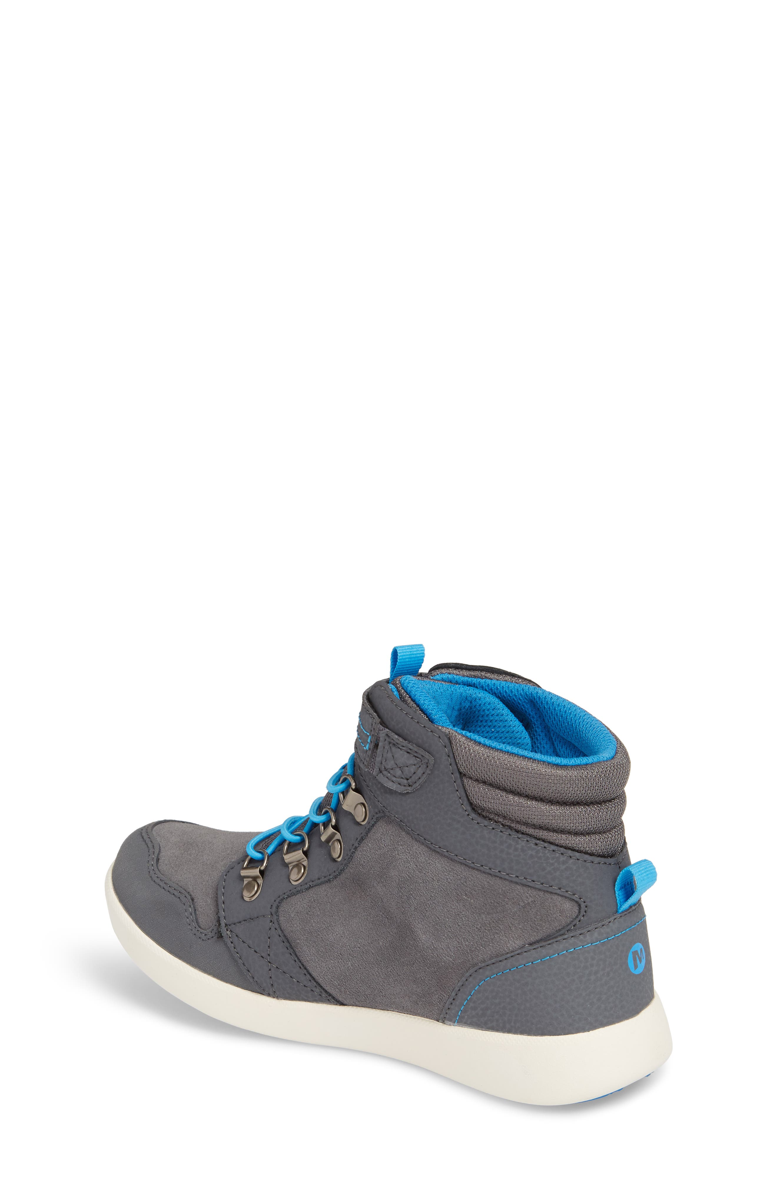 Freewheel Mid Top Waterproof Sneaker Boot,                             Alternate thumbnail 2, color,                             Grey