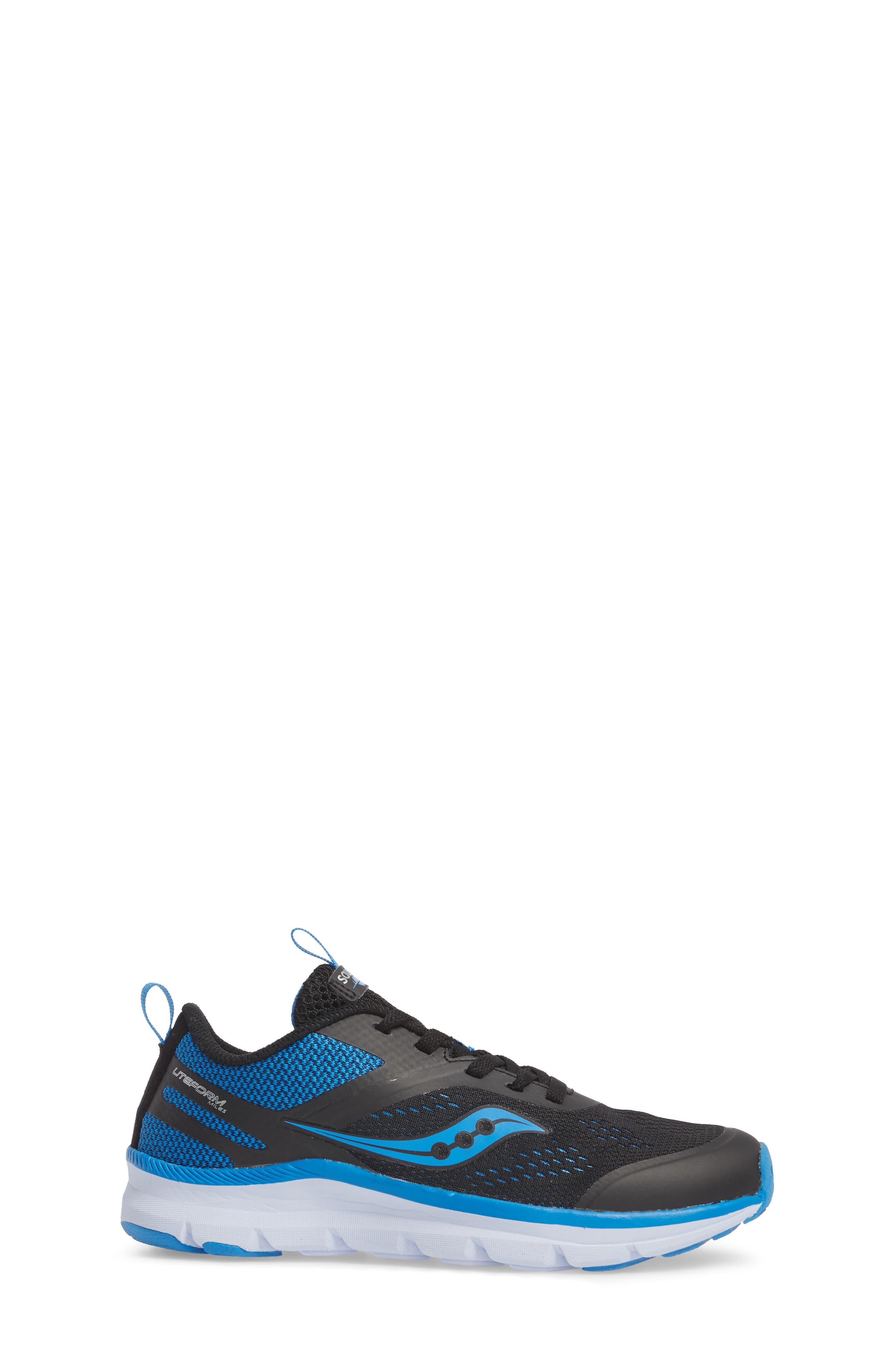 Alternate Image 3  - Saucony Liteform Miles Sneaker (Toddler, Little Kid & Big Kid)