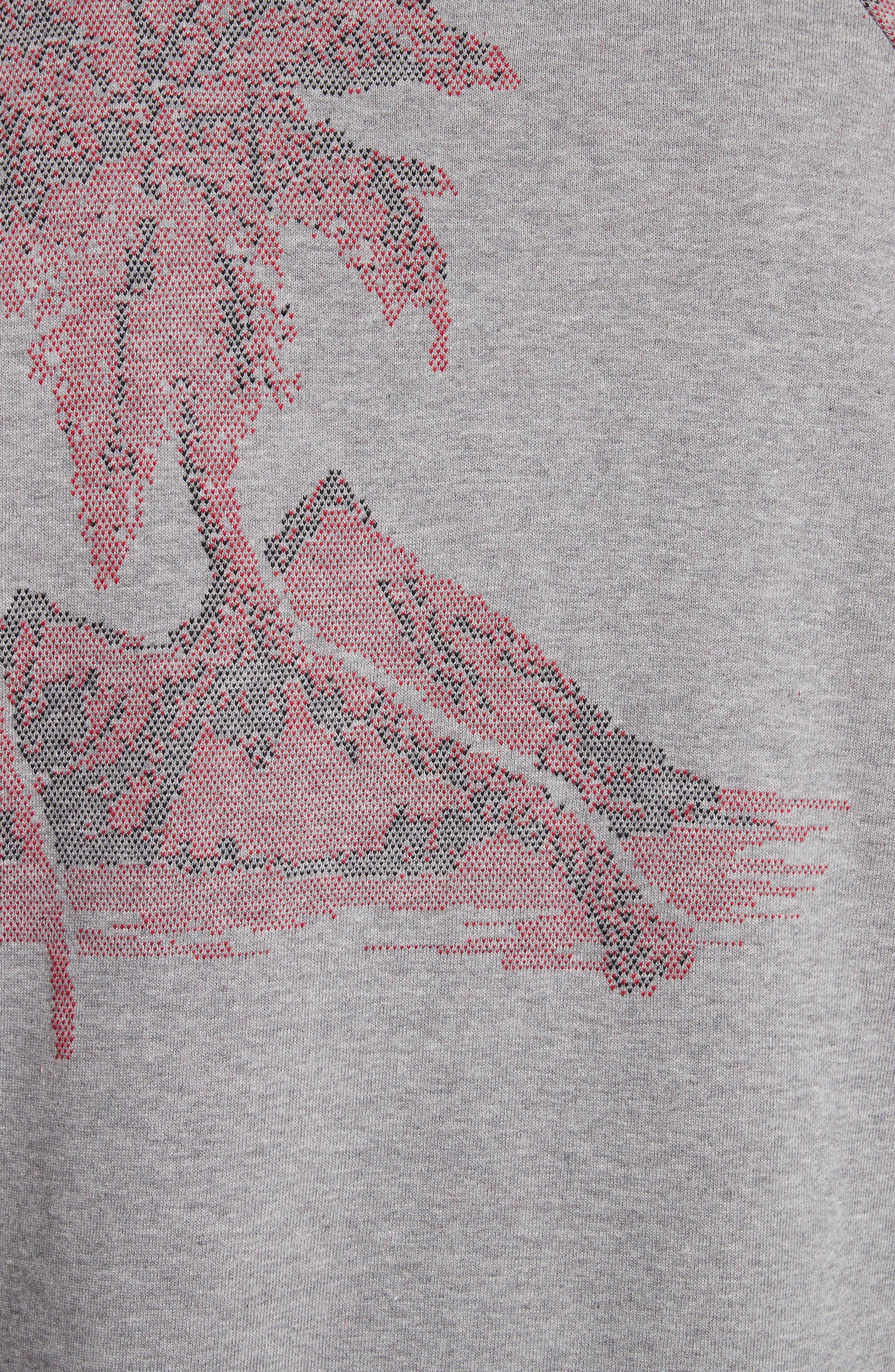 Crewneck Sweatshirt,                             Alternate thumbnail 5, color,                             24 Grey