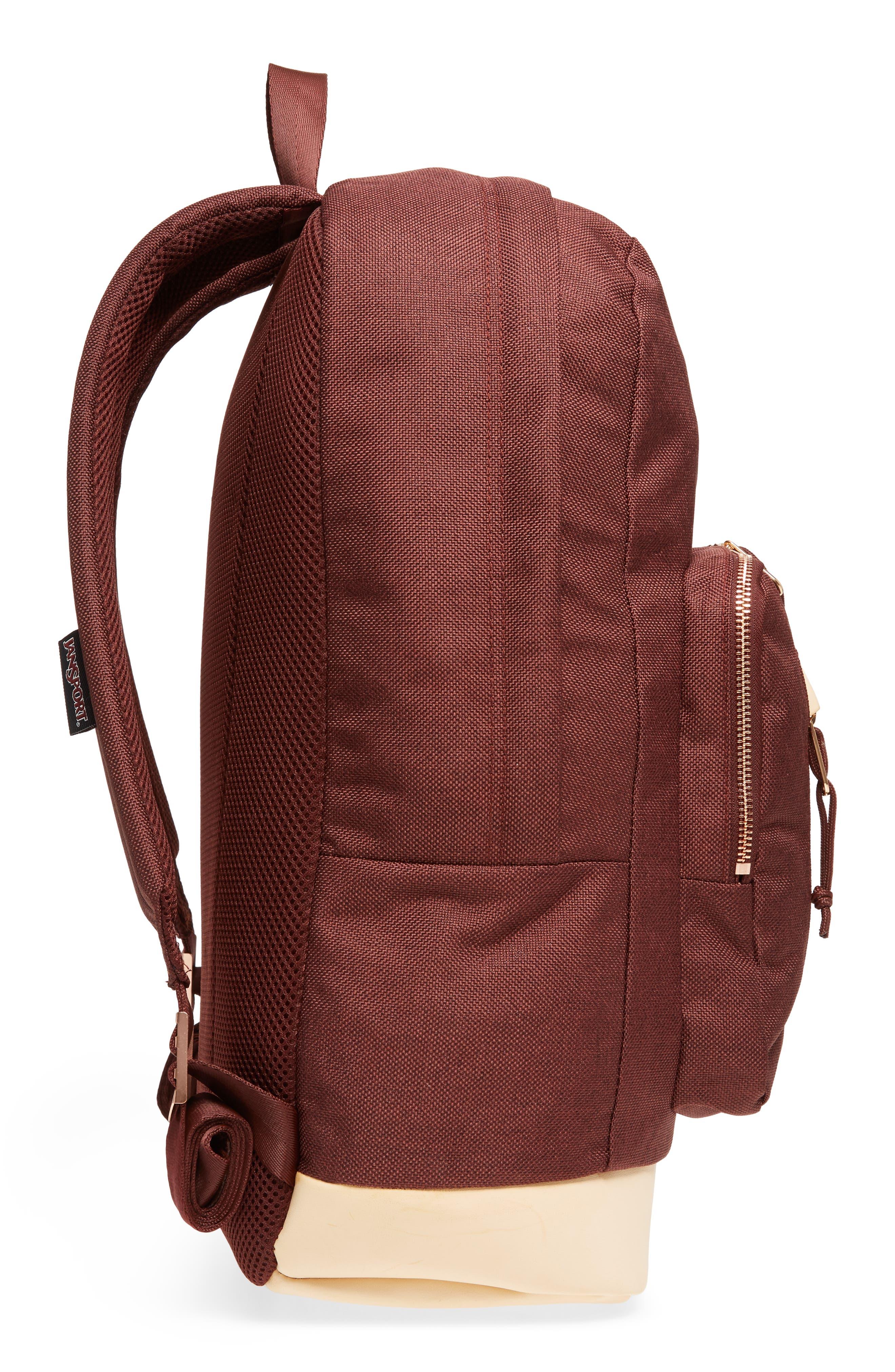 Red Rocks Axiom Backpack,                             Alternate thumbnail 5, color,                             Maroon Tweed