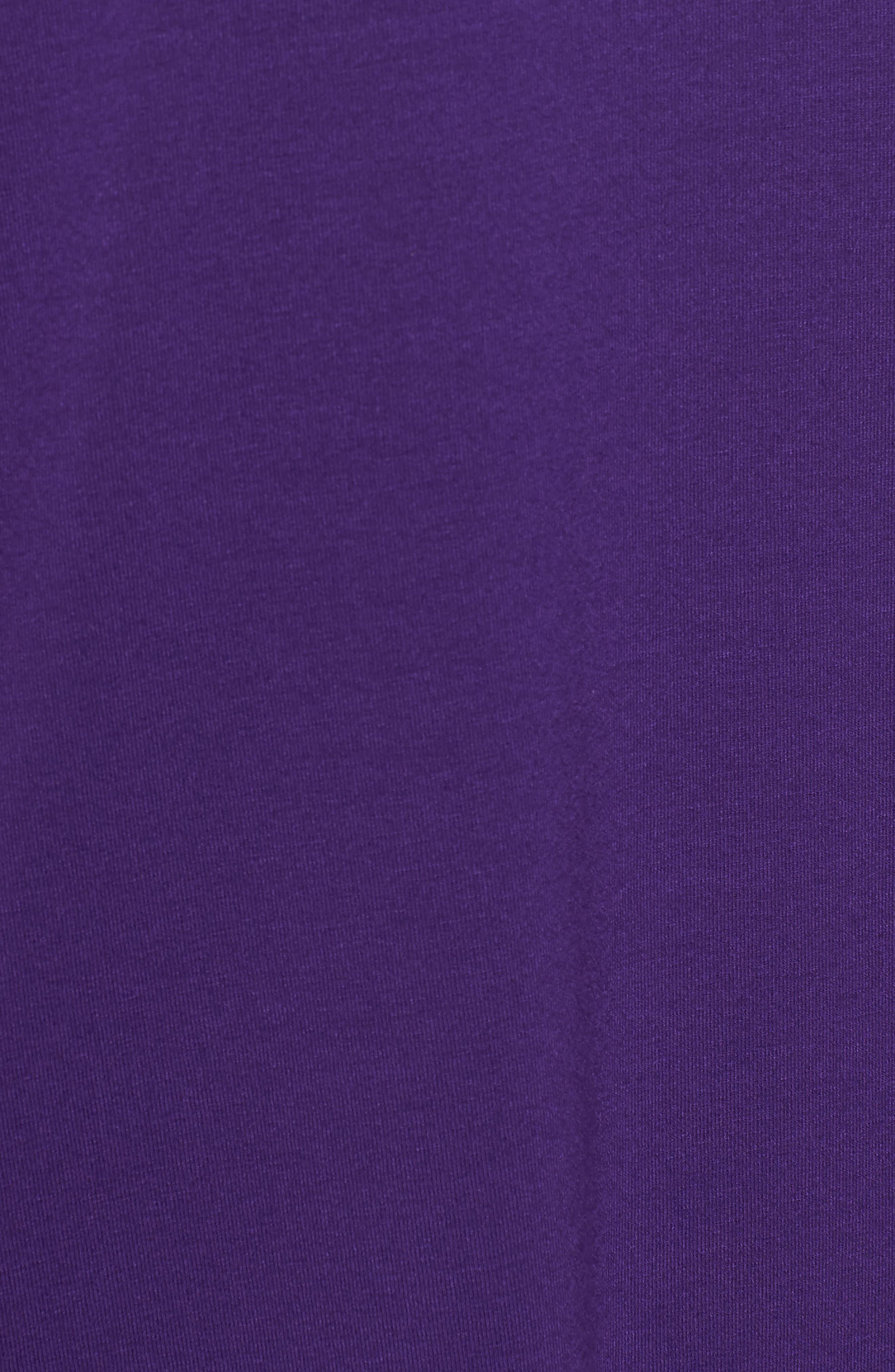 Alternate Image 5  - Eileen Fisher Long Sleeve Jersey Shift Dress (Regular & Petite)