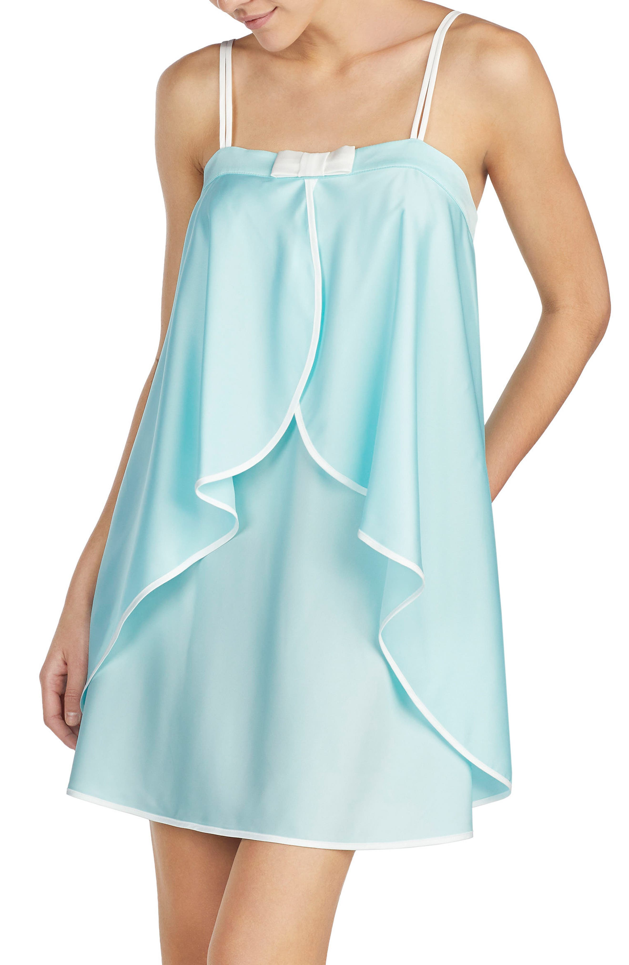Alternate Image 1 Selected - kate spade new york charmeuse chemise